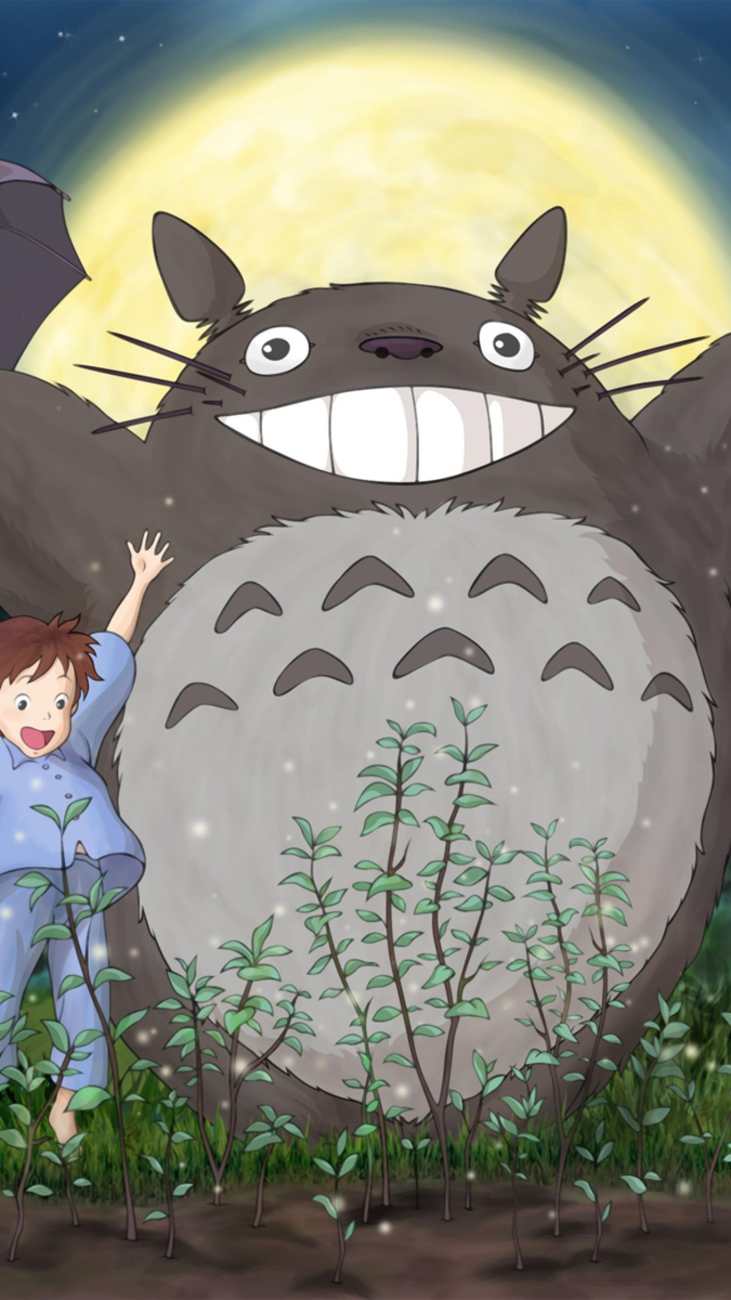 Preview wallpaper ghibli, my neighbor totoro, mei, satsuki, totoro, forest,