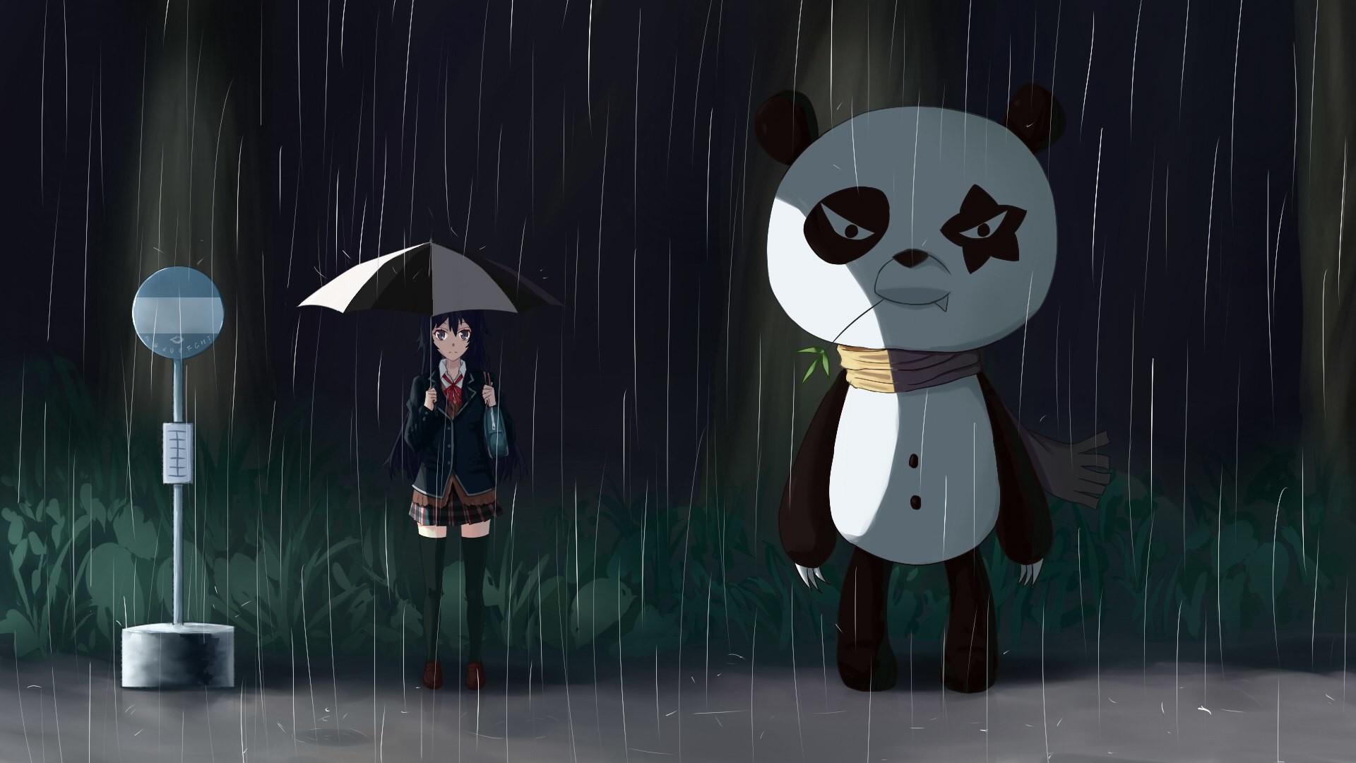 Anime – Crossover Yukino Yukinoshita My Neighbor Totoro Wallpaper