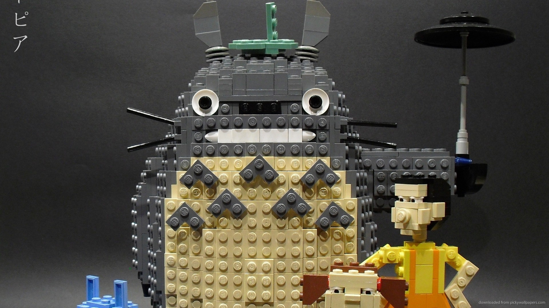 HD My Neighbor Totoro LEGO wallpaper