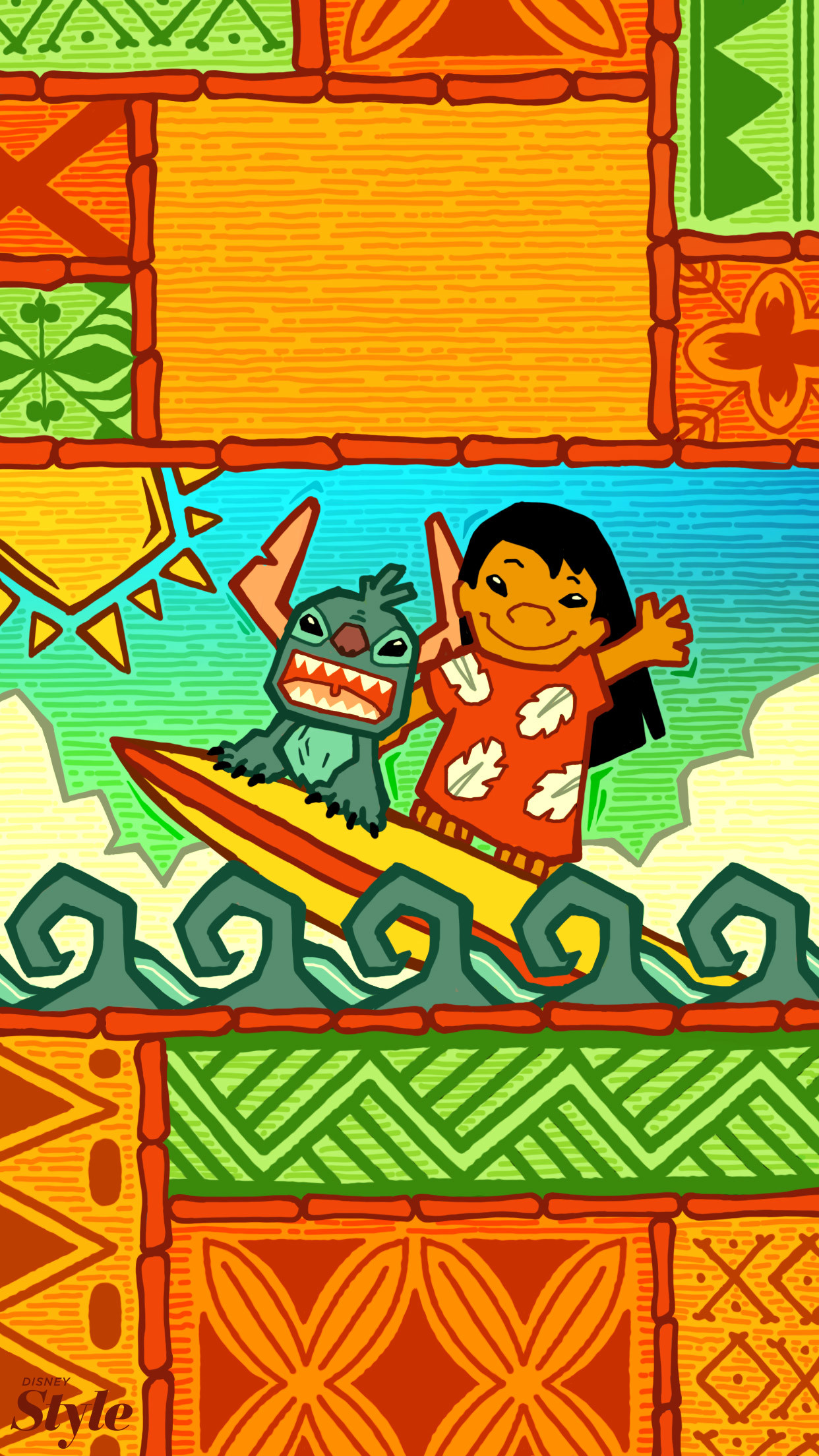 Summer Disney Backgrounds for Your Phone lilo & stitch