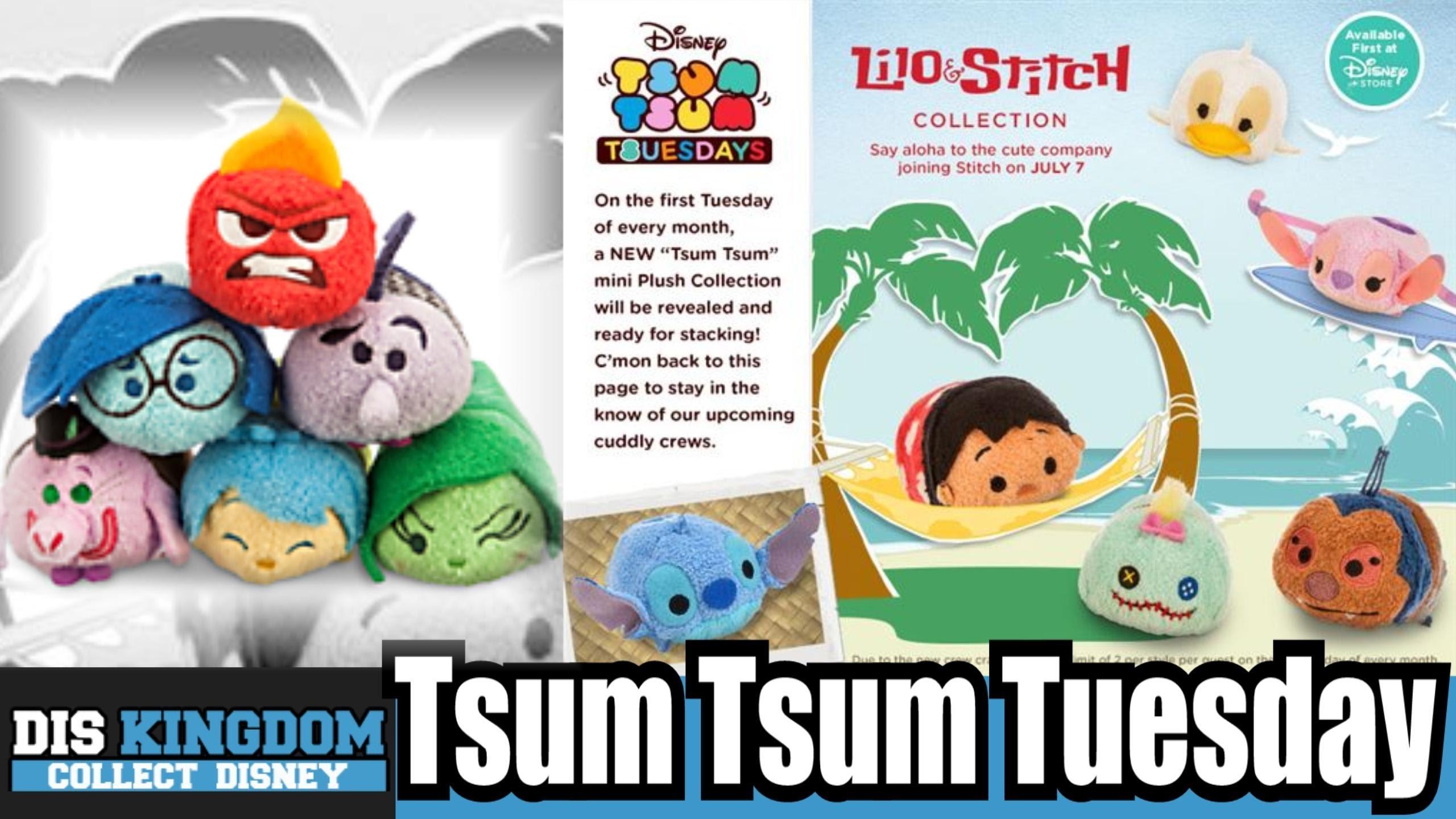 Inside Out + Lilo & Stitch Tsum Tsum Tuesday