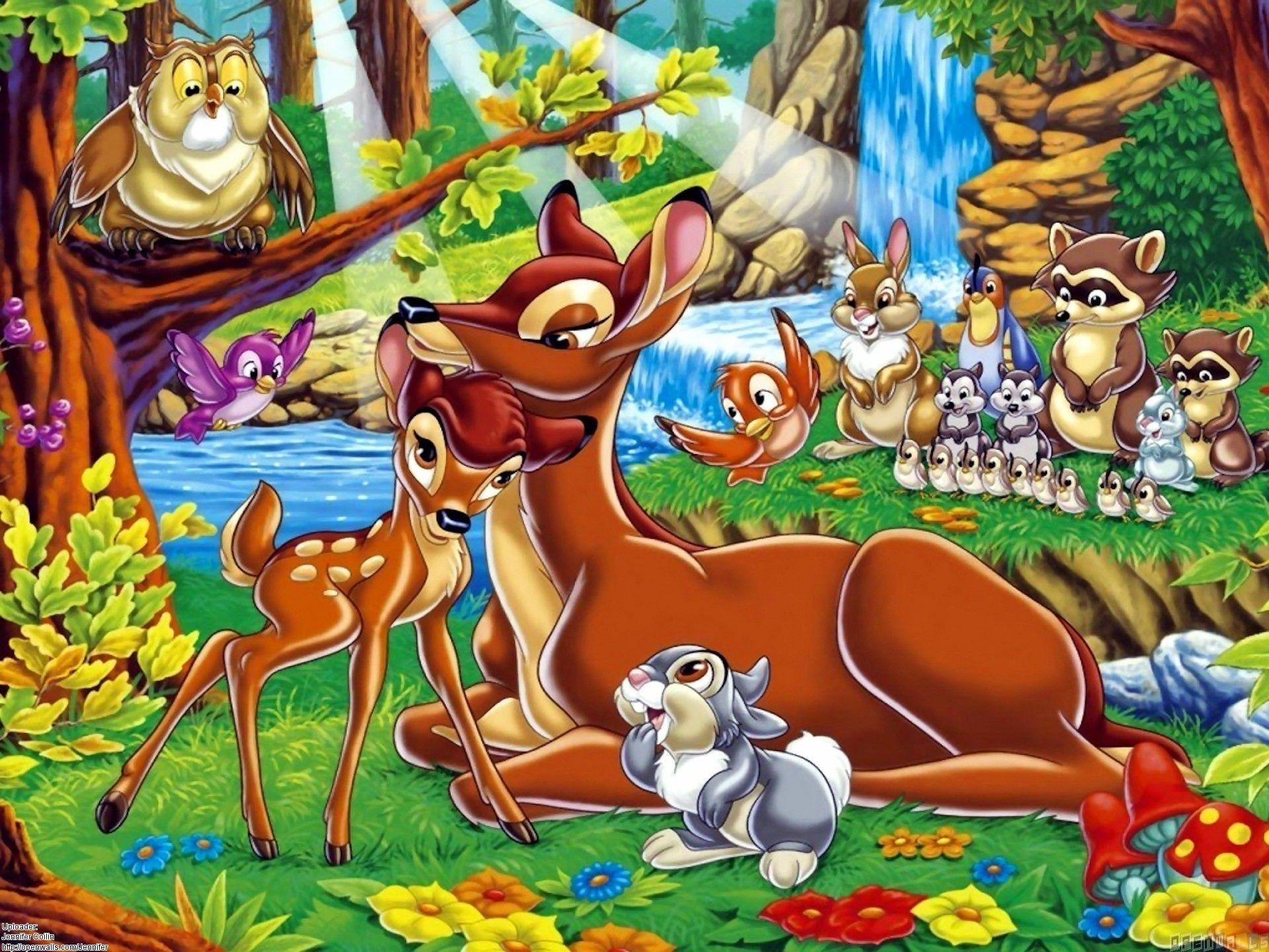 Bambi, walt disney wallpaper #22247 – Open Walls