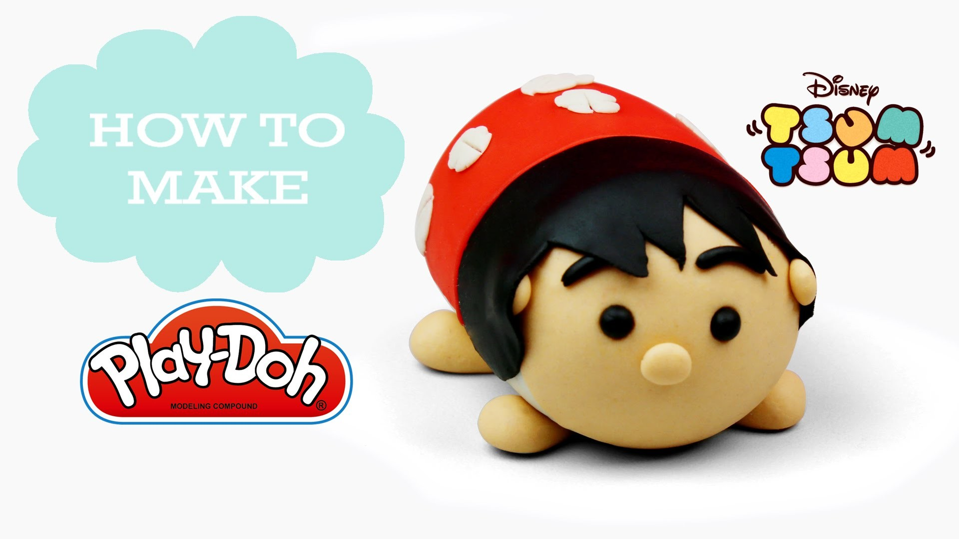 Lilo & Stitch – Play Doh Making Cute Lilo Tsum Tsum