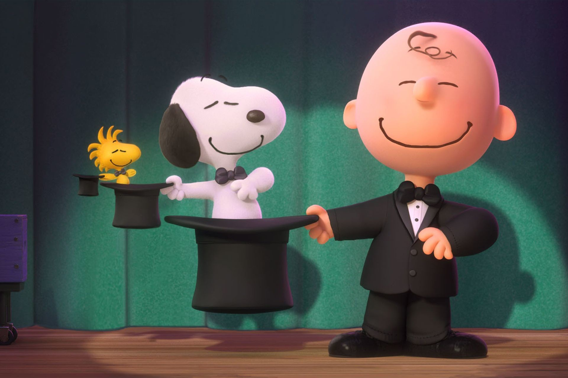 Snoopy and Charlie Brown desktop HD wallpaper