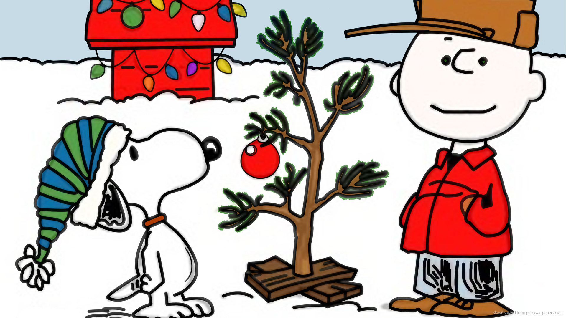 Snoopy Christmas picture