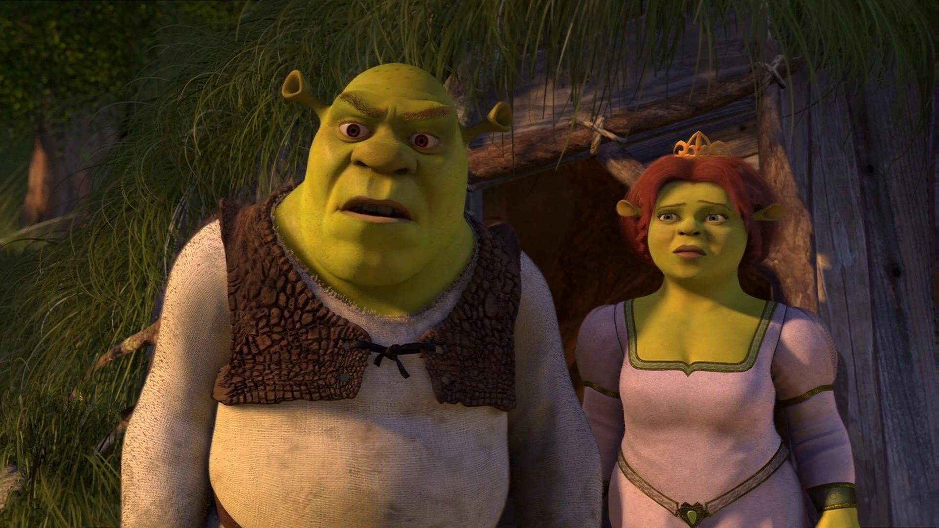 Shrek 2 (2004) Movie Trailer in HD and Wallpapers