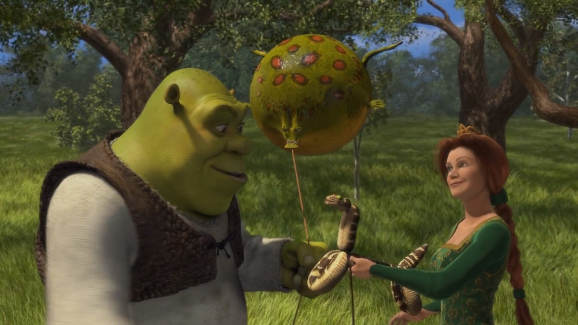 A PESSIMIST'S MOVIE GUIDE TO V-DAY | The Citizen Cinema Shrek And Fiona Kiss