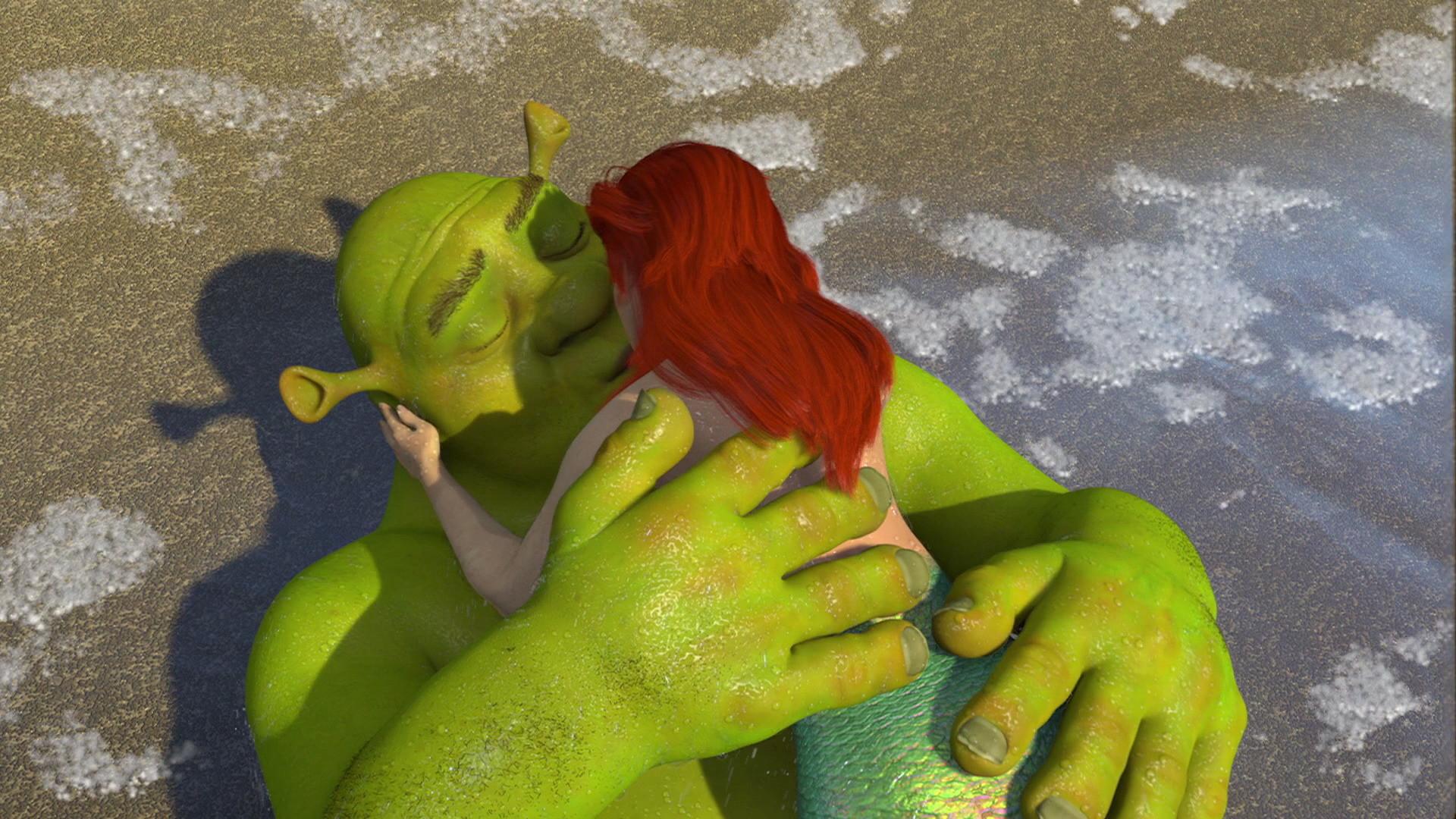 Image – Shrek kissed Ariel 3.jpg | Dreamworks Animation Wiki | FANDOM  powered by Wikia