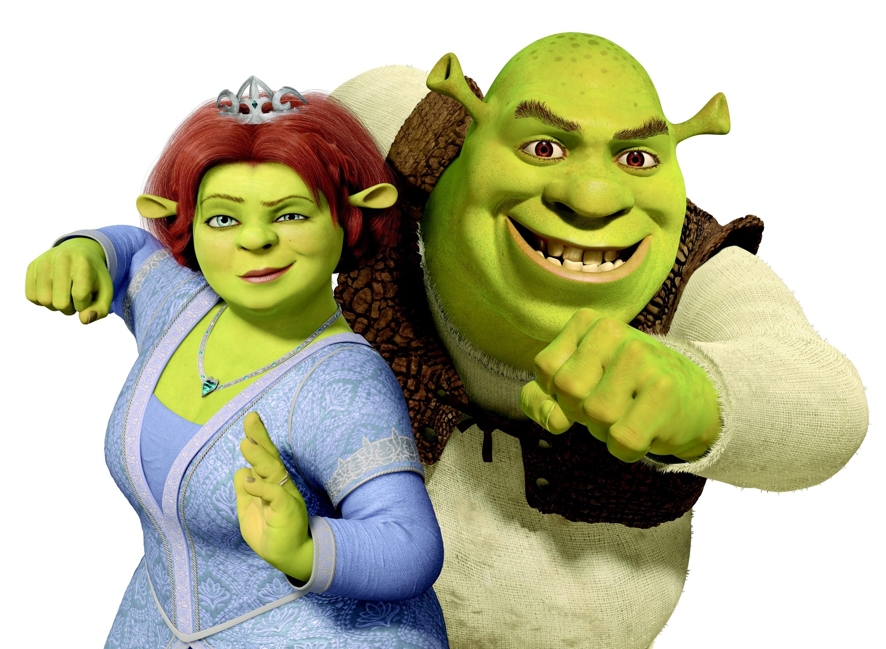 Shrek And Fiona wallpaper 107437