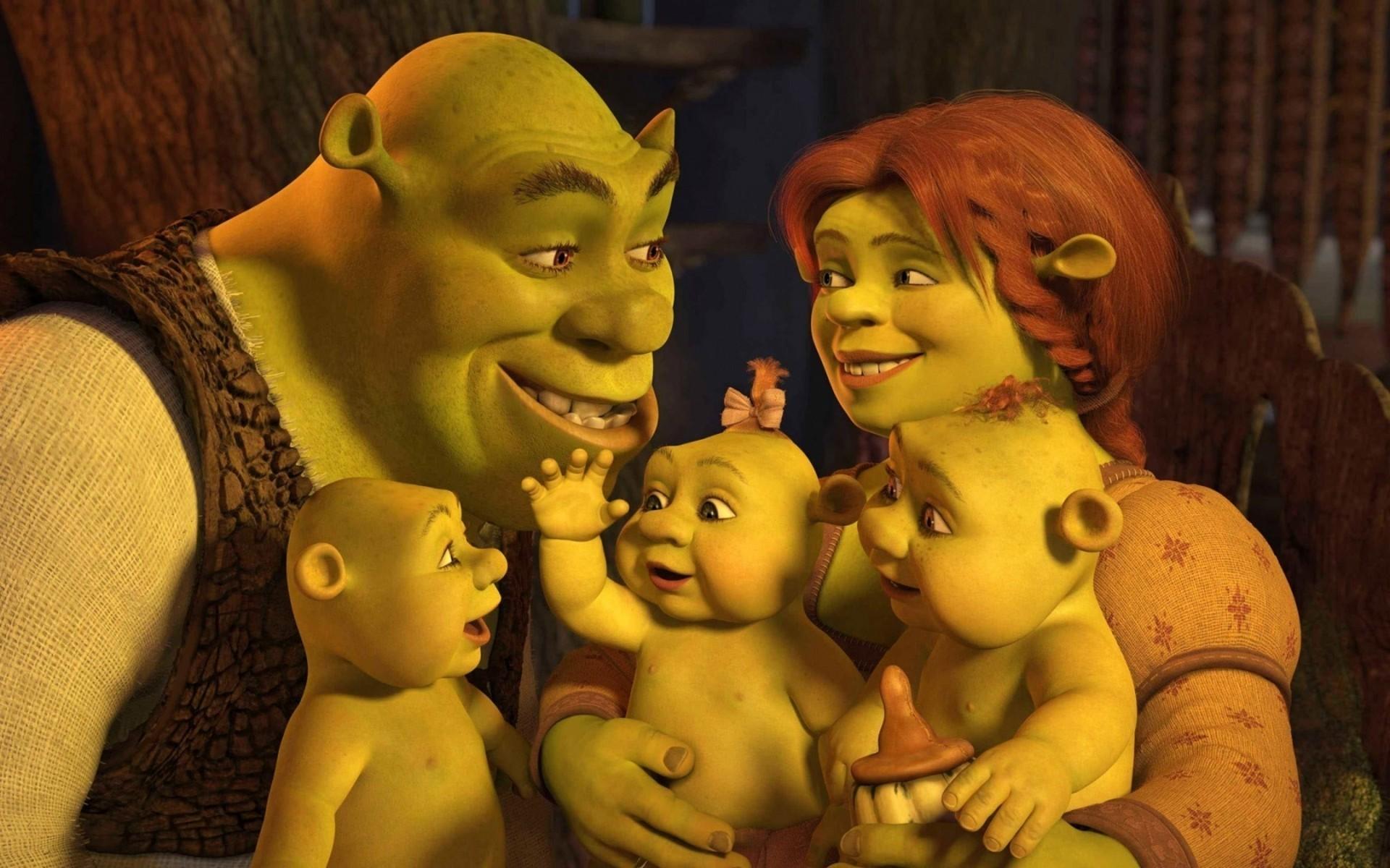 Shrek's family wallpaper #9112