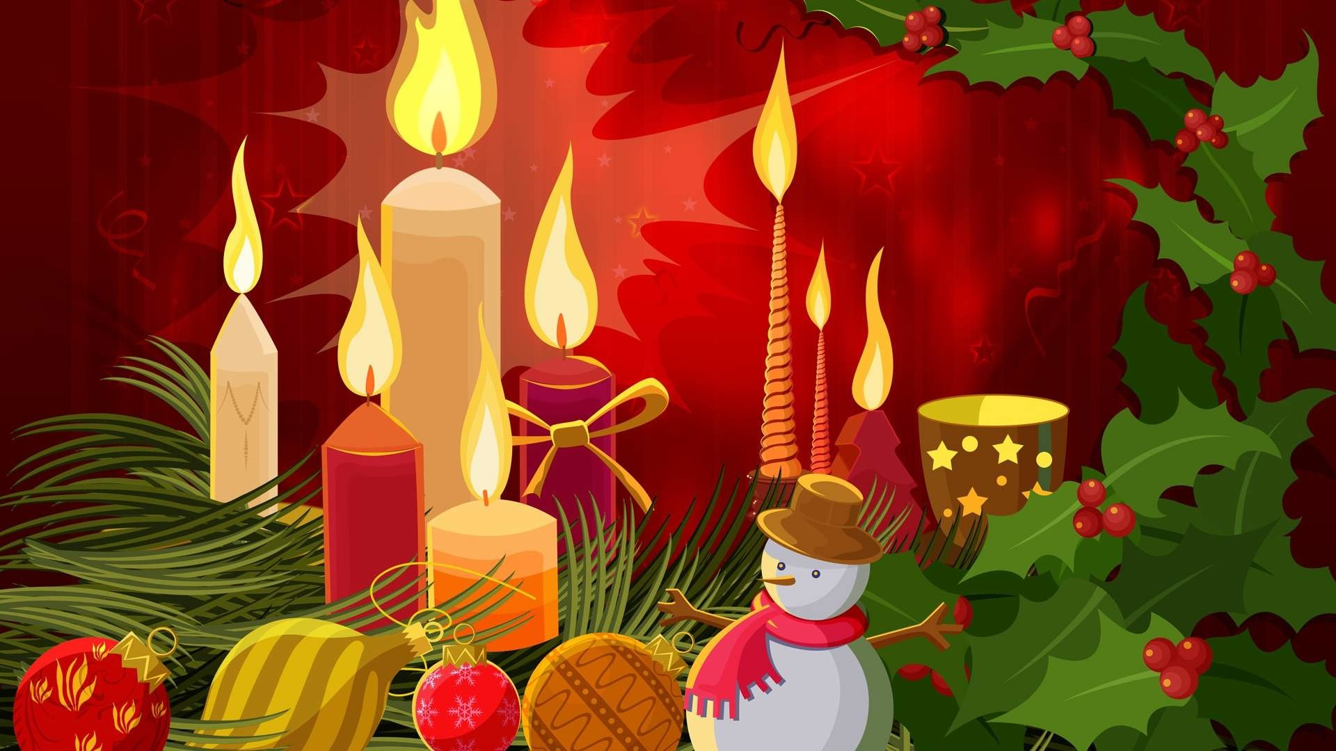 Desktop cartoon christmas wallpapers free download