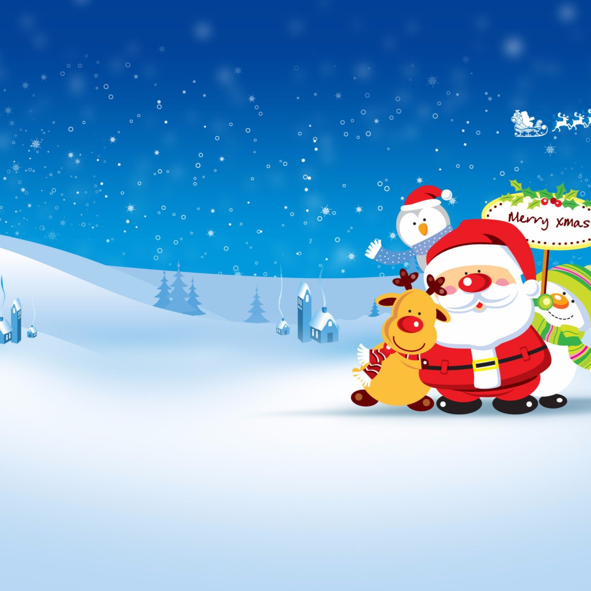 Related to Cartoon Santa 2016 Merry Christmas 4K Wallpaper