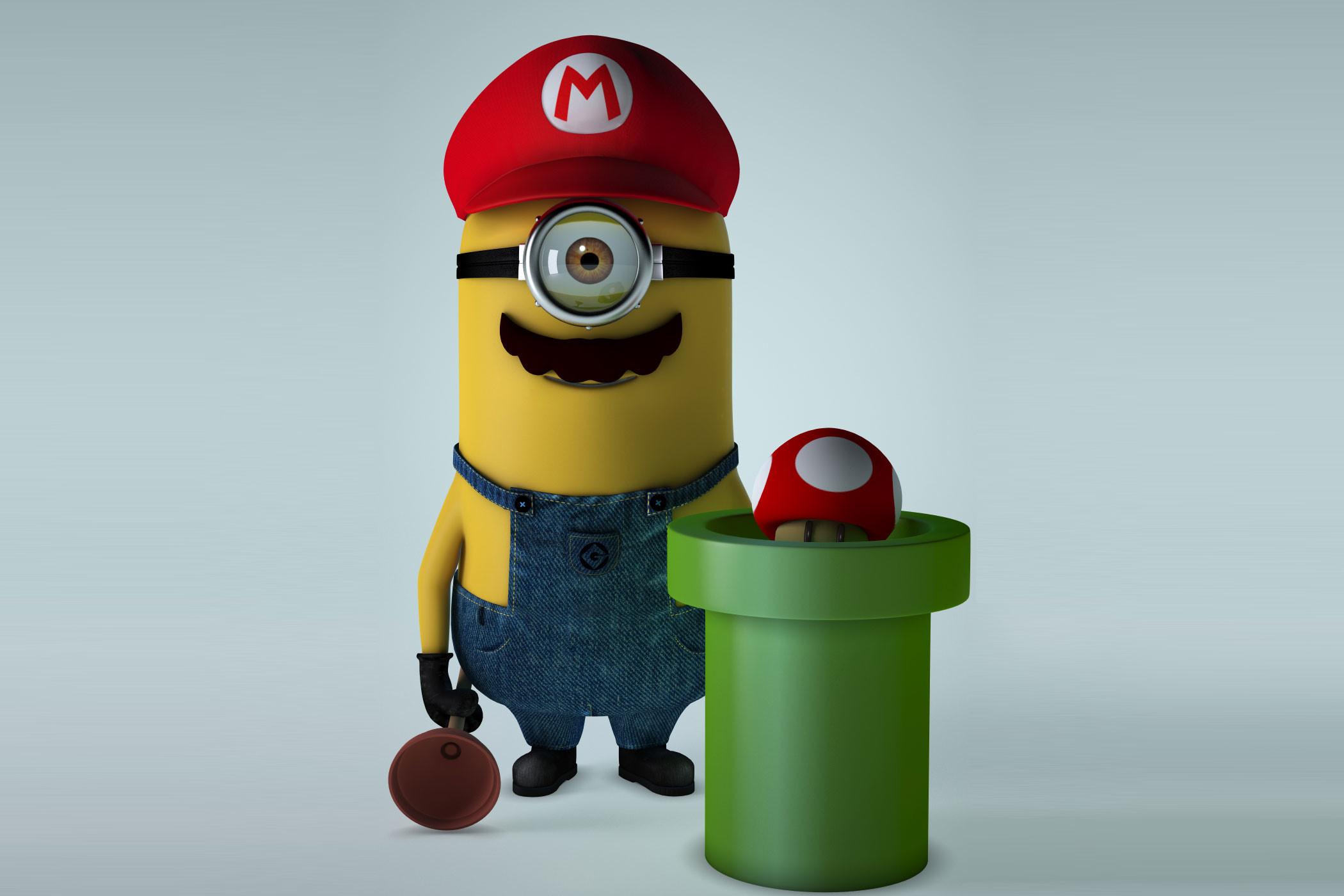 Super Mario Minion Desktop Pictures