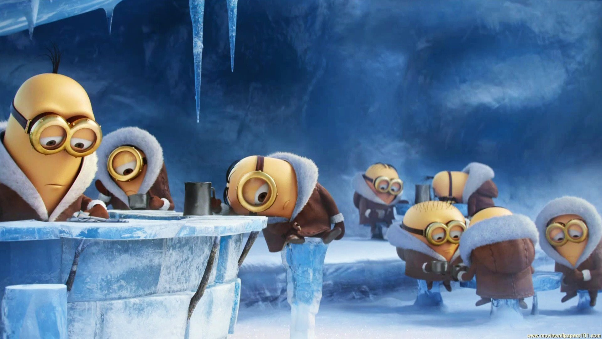 Gallery images and information: Free Minion Screensaver