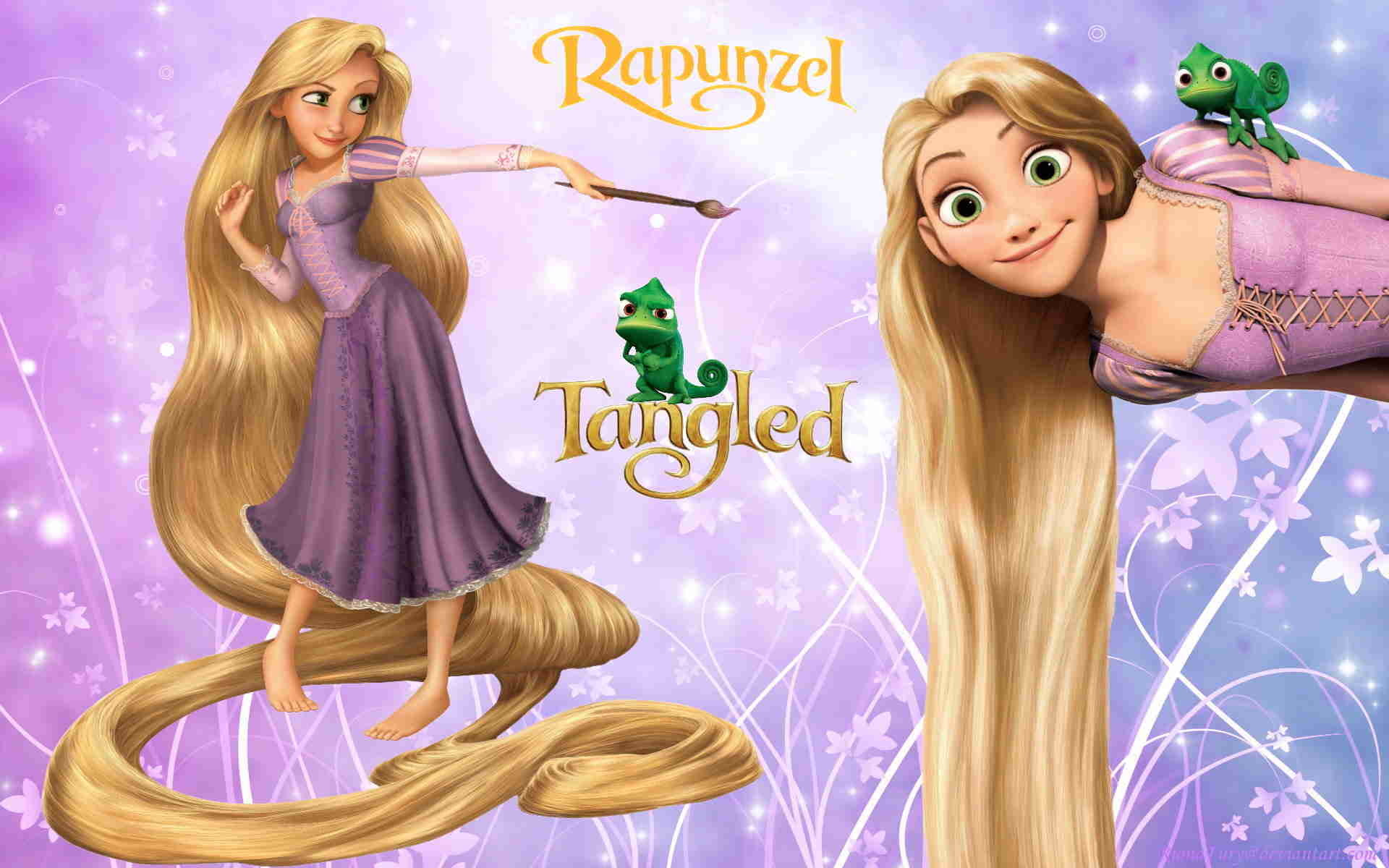 HD Wallpaper and background photos of Disney Princess Rapunzel for fans of Tangled  images.