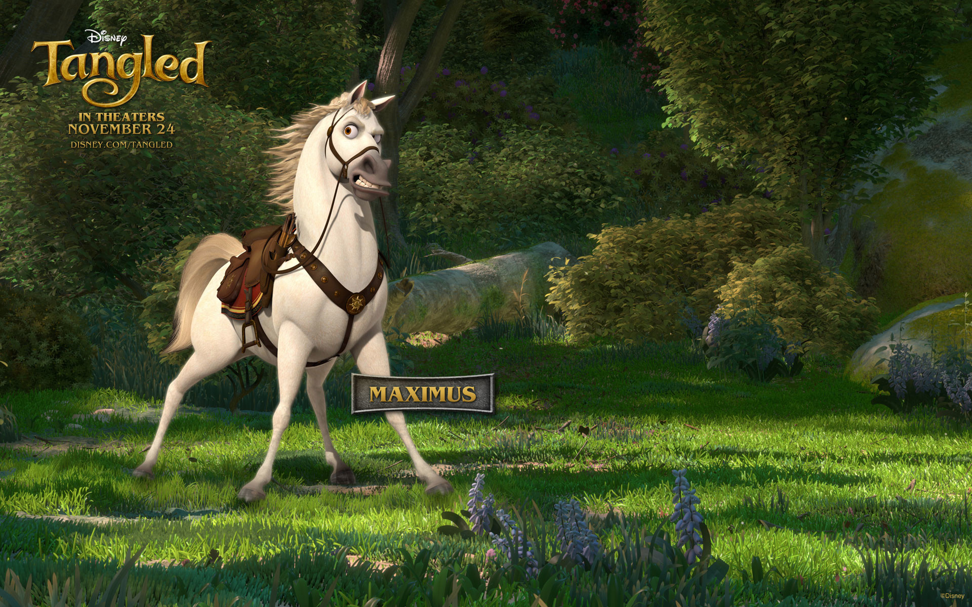 Maximus the Horse from Disney's Tangled wallpaper – Click picture for high  resolution HD wallpaper