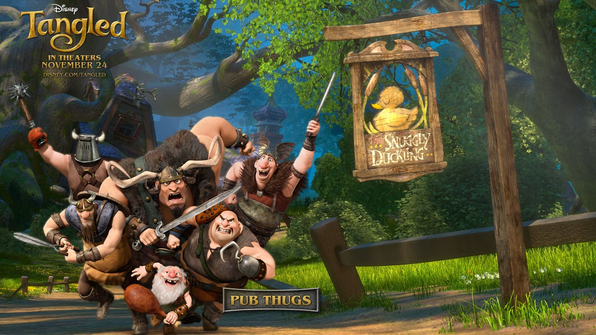 tangled pub thugs disney