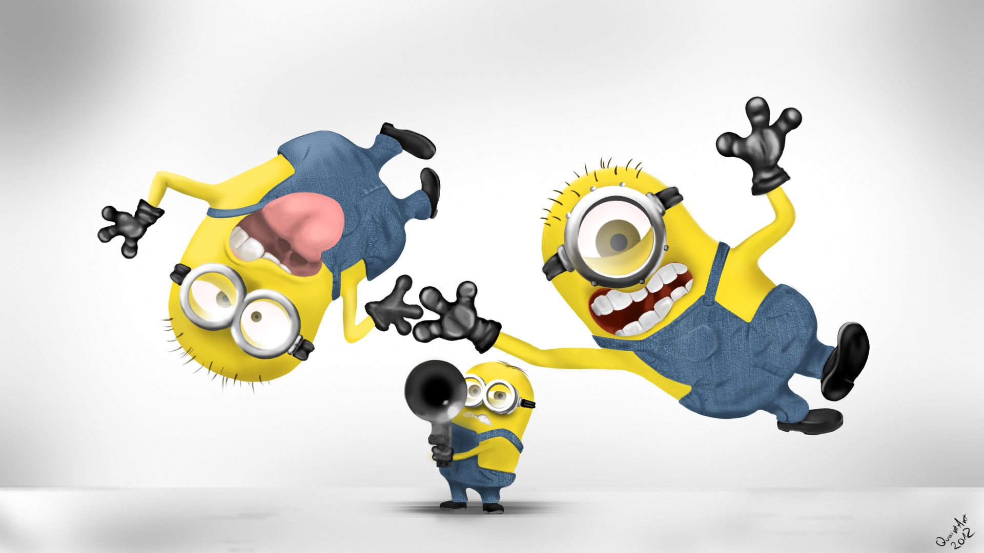 Funny Minions HD Wallpaper #5337 | Background Images Free