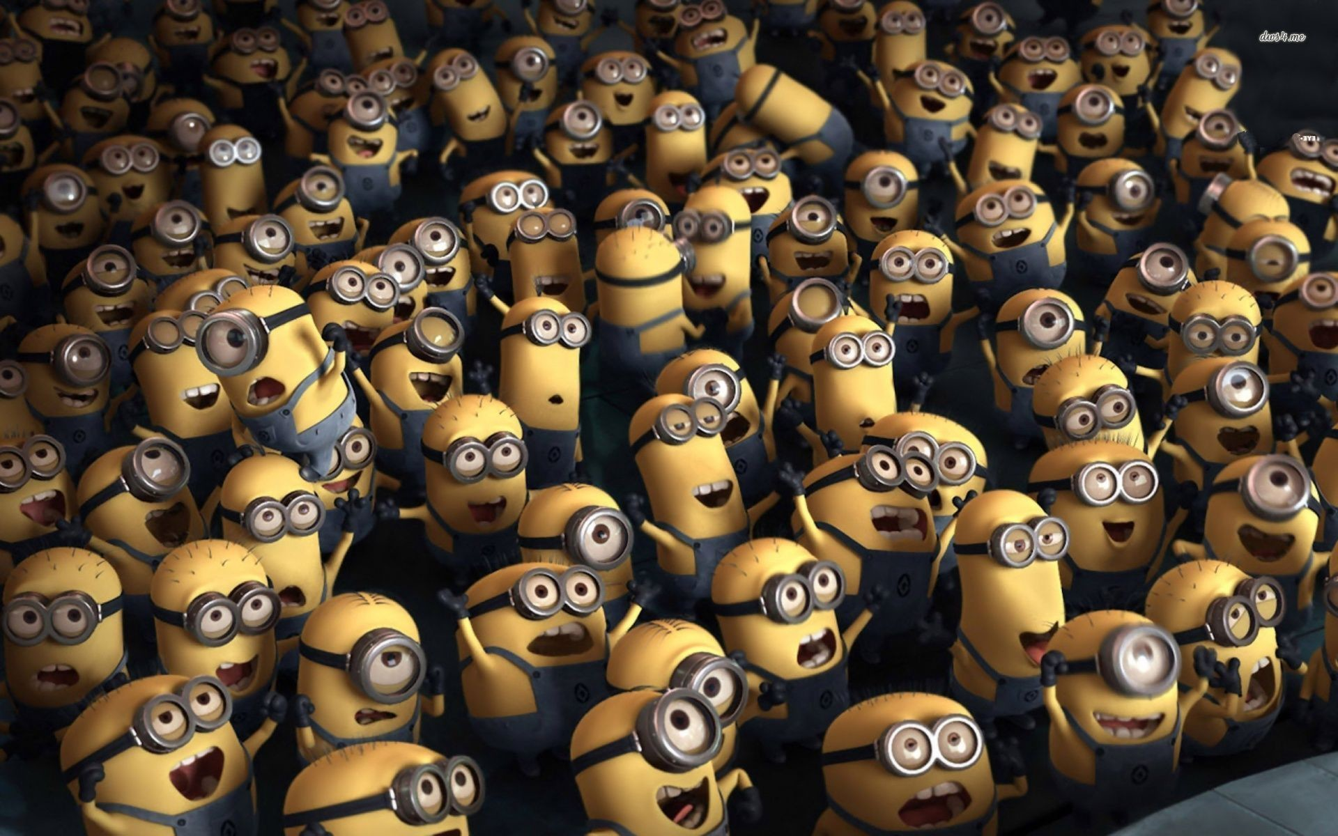 Crowd of Minions – Despicable me 2