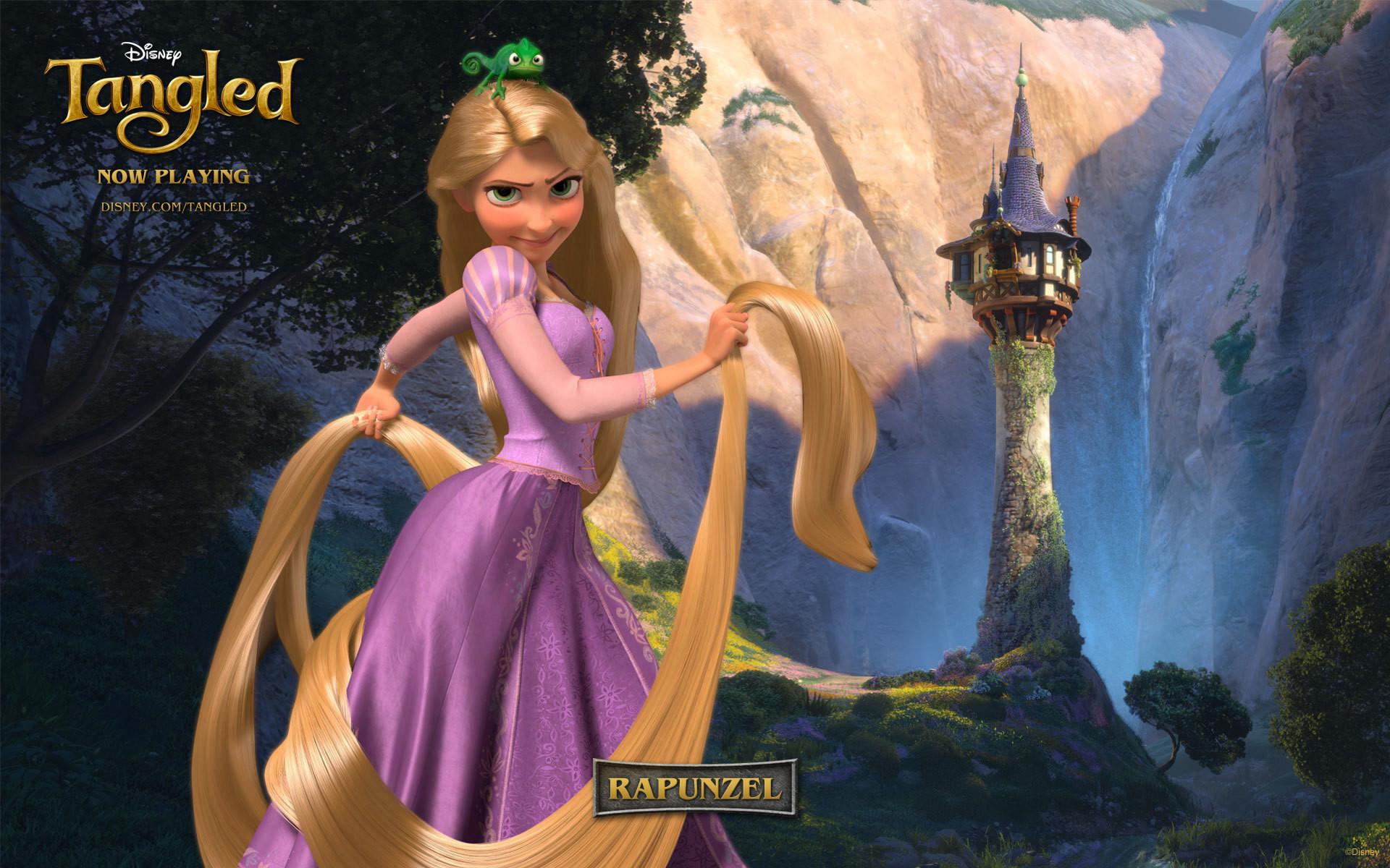 Disney Princess Rapunzel Widescreen Wallpapers 07848