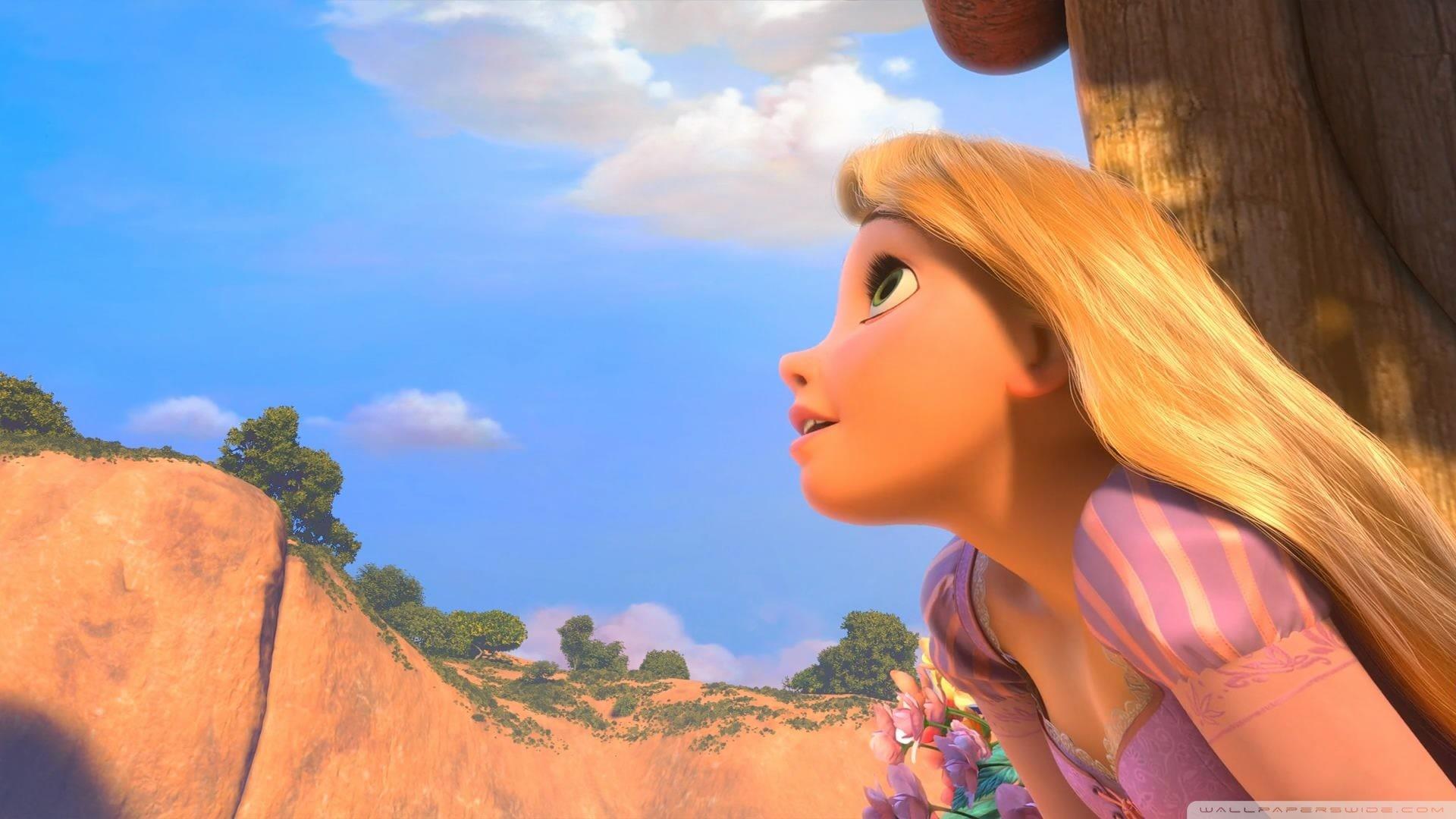 Tangled Rapunzel HD wallpaper