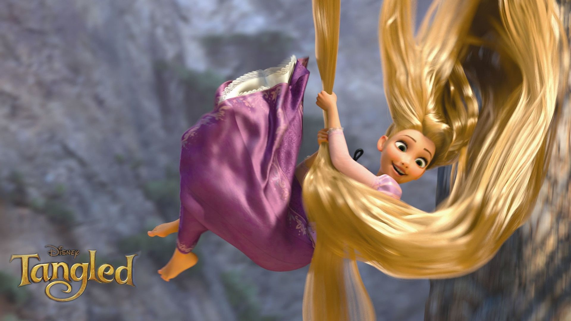 Tangled Rapunzel, Flynn And Maximus HD desktop wallpaper 1920×1080 Tangled Rapunzel  Wallpapers (
