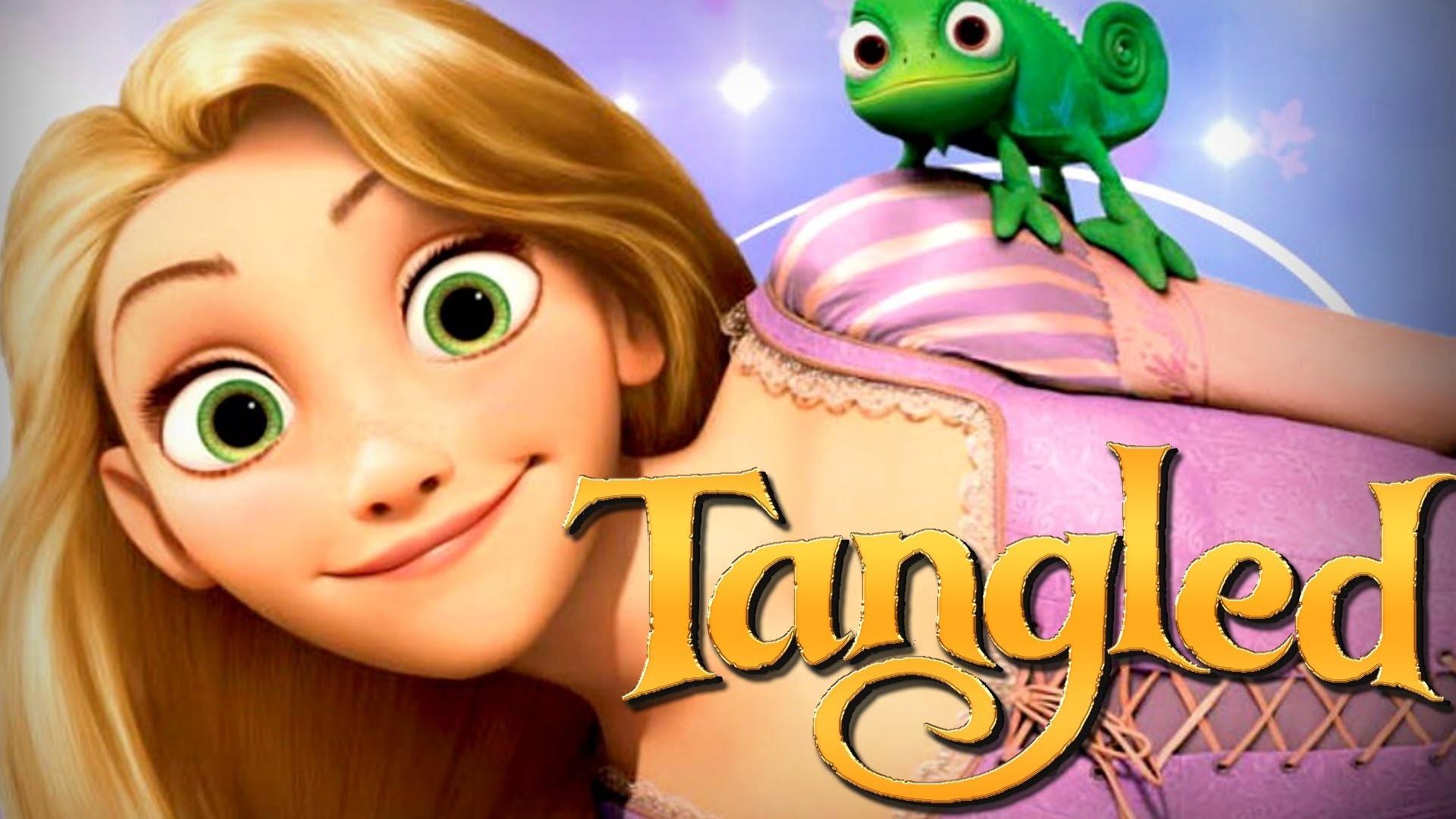 Disney Tangled Movie Game: Full Gameplay Rapunzel & Flynn | HD