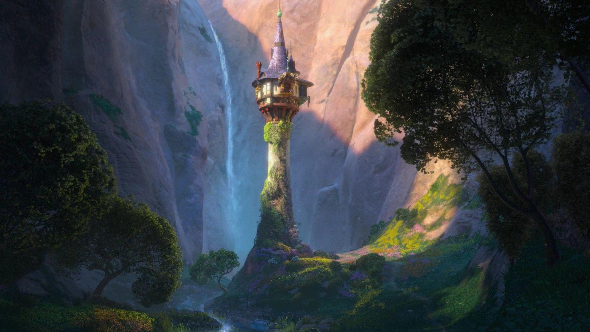 Rapunzel's tower – Tangled HD Wallpaper Rapunzel's …