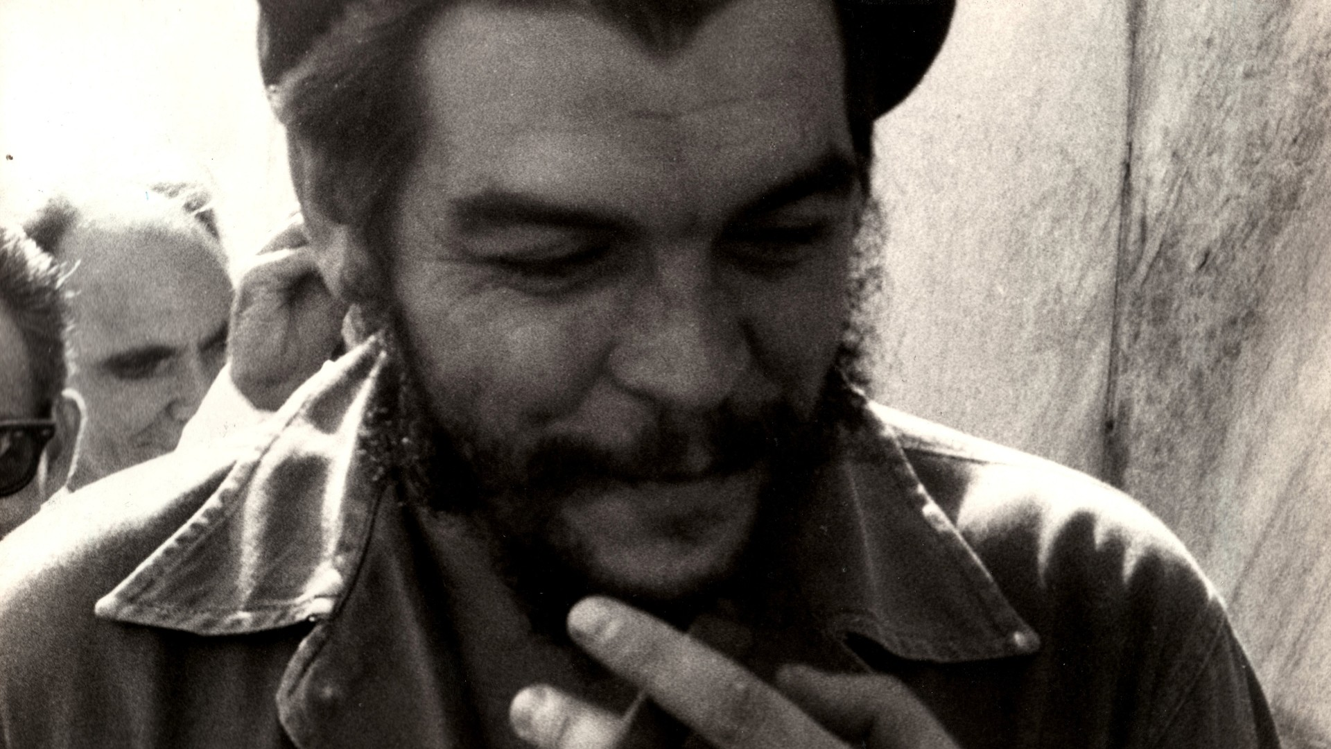 Che Guevara Smiling for 1920 x 1080 HDTV 1080p resolution