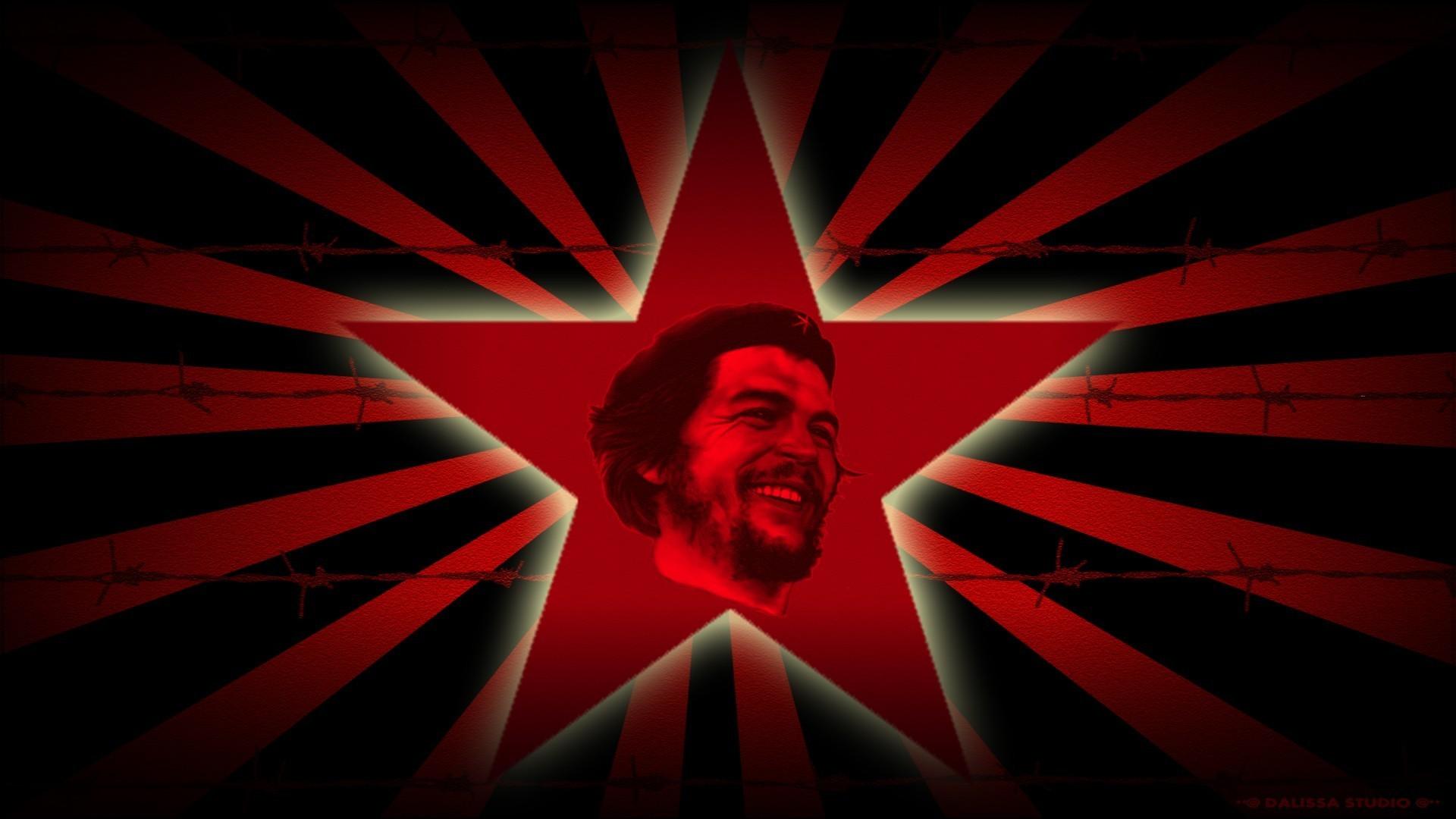 Revolution Che Guevara Red Star Leader Murderer Guerrilla .