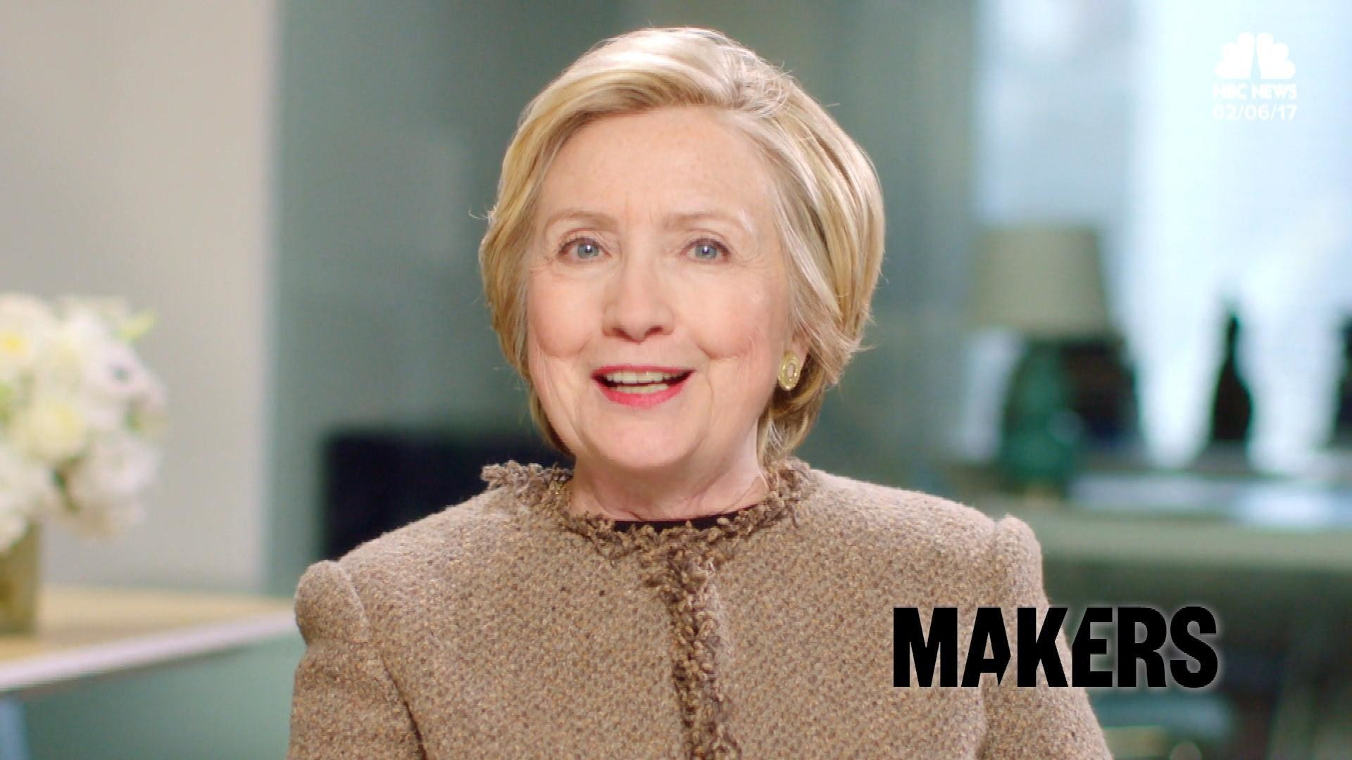 Hillary Clinton Says the 'Future is Female' in New Statement – NBC News