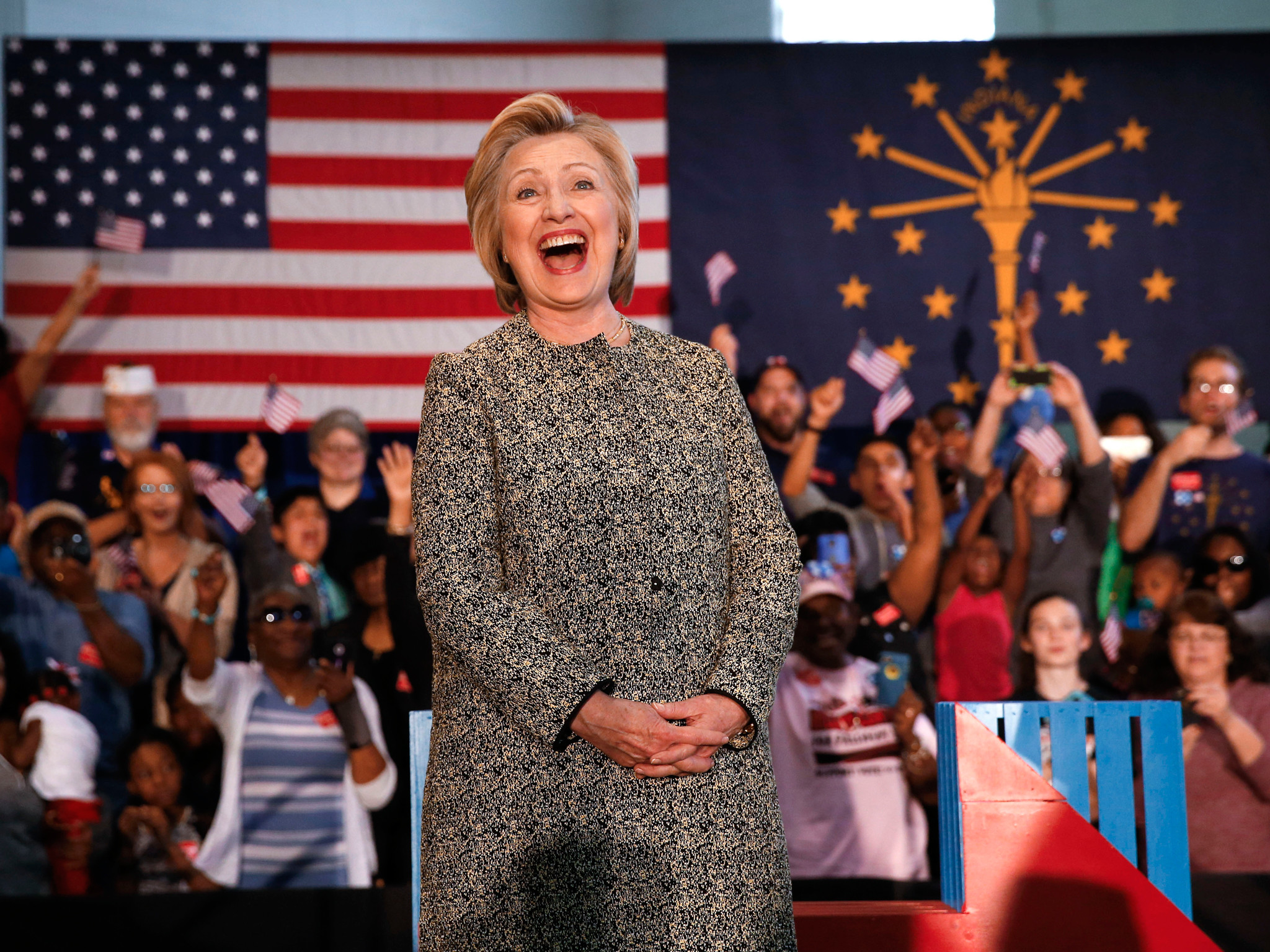 US election 2016: Hillary Clinton and Donald Trump set for presidential  duel | The Independent