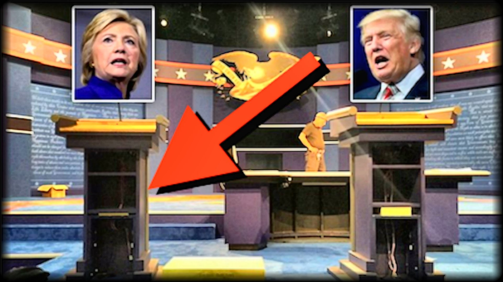 BREAKING: EVERY AMERICAN JUST NOTICED SOMETHING HUUUUGE ABOUT HILLARY  CLINTON'S DEBATE PODIUM! – YouTube
