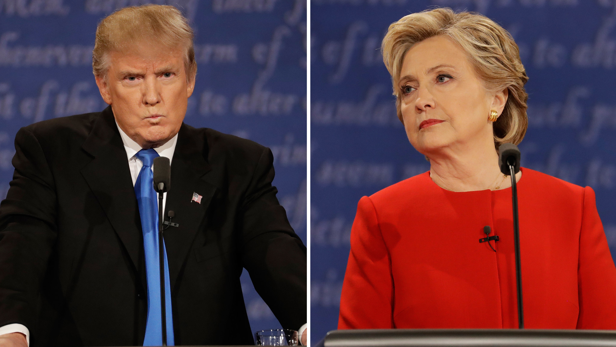 Clinton and Trump clash over their pasts and their plans in ferocious  opening presidential debate – LA Times