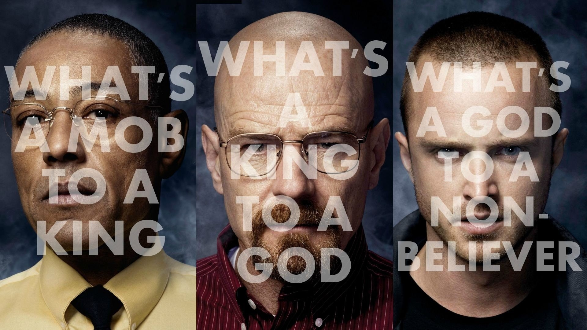 Aaron Paul Breaking Bad Bryan Cranston Frank Ocean Giancarlo Esposito Jay Z  Jesse Pinkman Lyrics Panels Typography Walter White