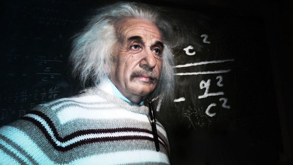 Preview wallpaper albert einstein, scientist, physicist 3840×2160