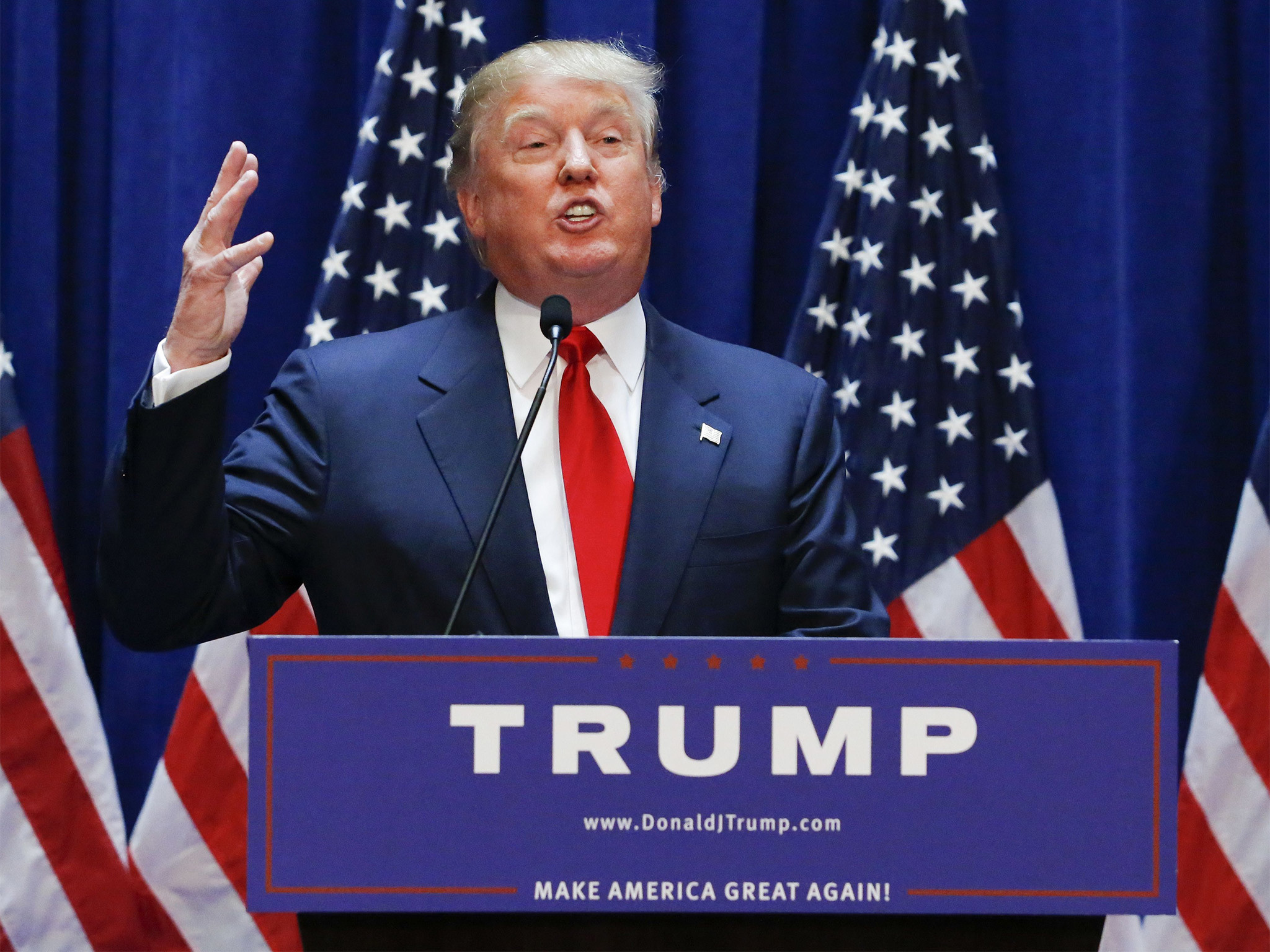 Donald Trump: Business magnate and reality TV star announces he will run  for White House | The Independent