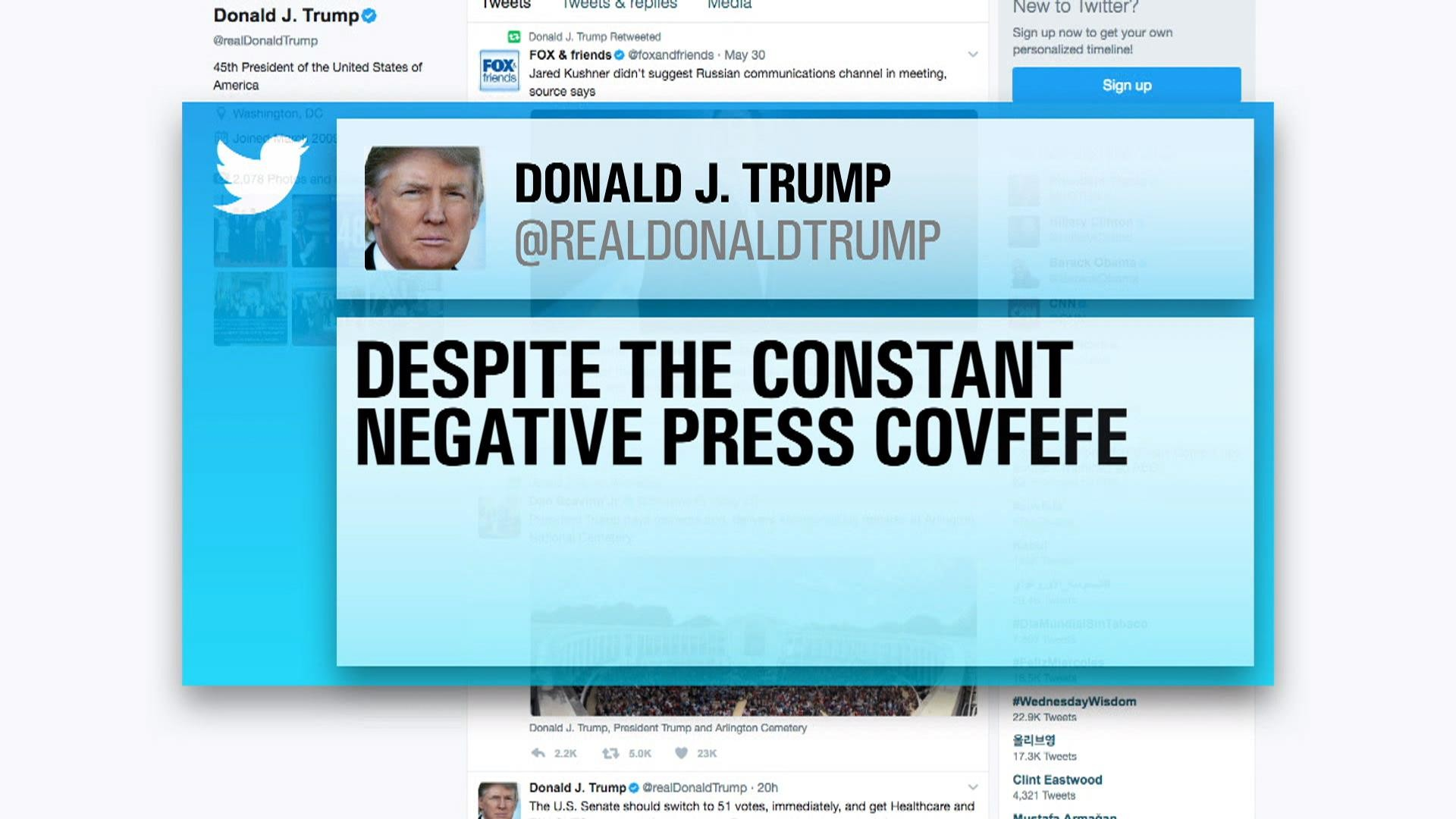 Trump's mystery 'covfefe' tweet sparks confusion: What does it mean? – NBC  News