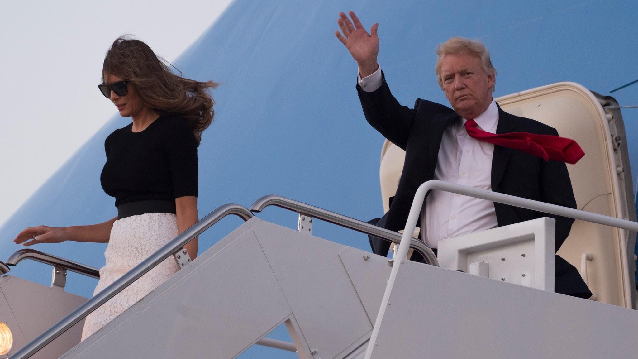 US President Donald Trump 'to visit UK in 2018'