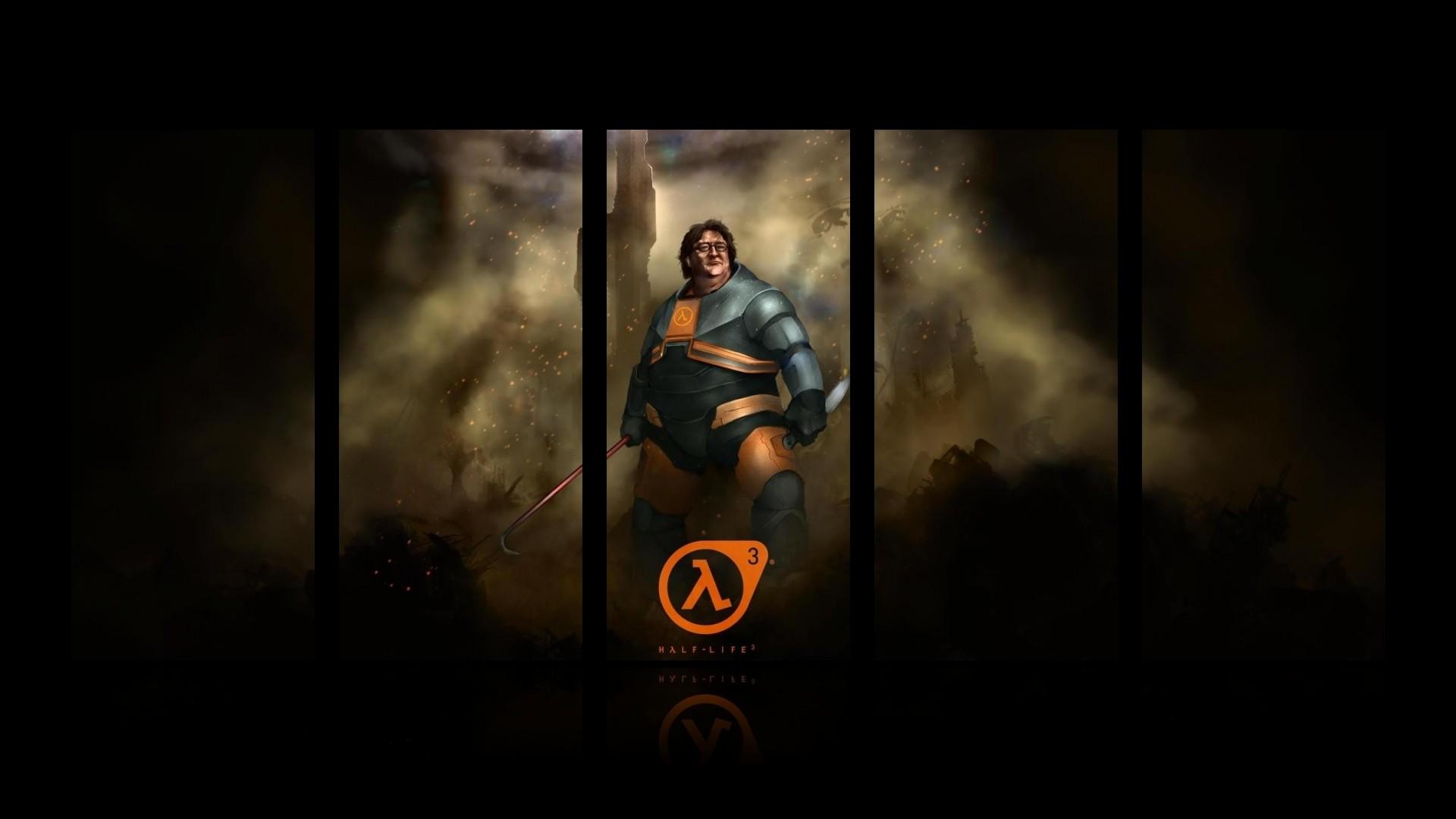 Gabe Newell Half-Life Valve HD wallpaper thumb