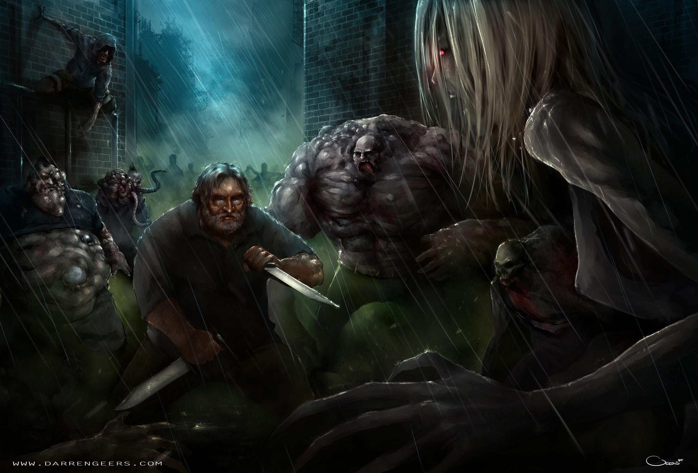 … Gabe Newell, left 4 dead by Darren Geers by DarrenGeers