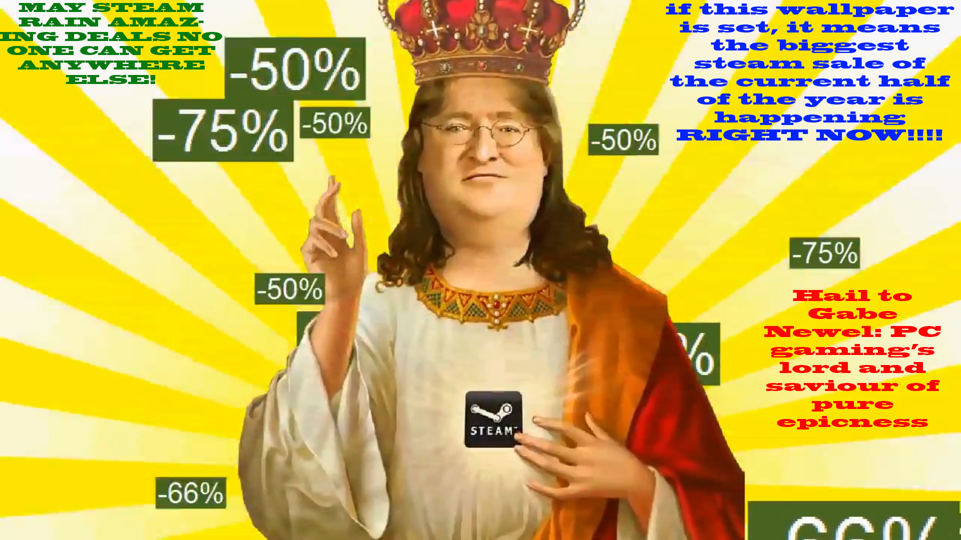… Gabe: our lord and saviour by sporeboy100