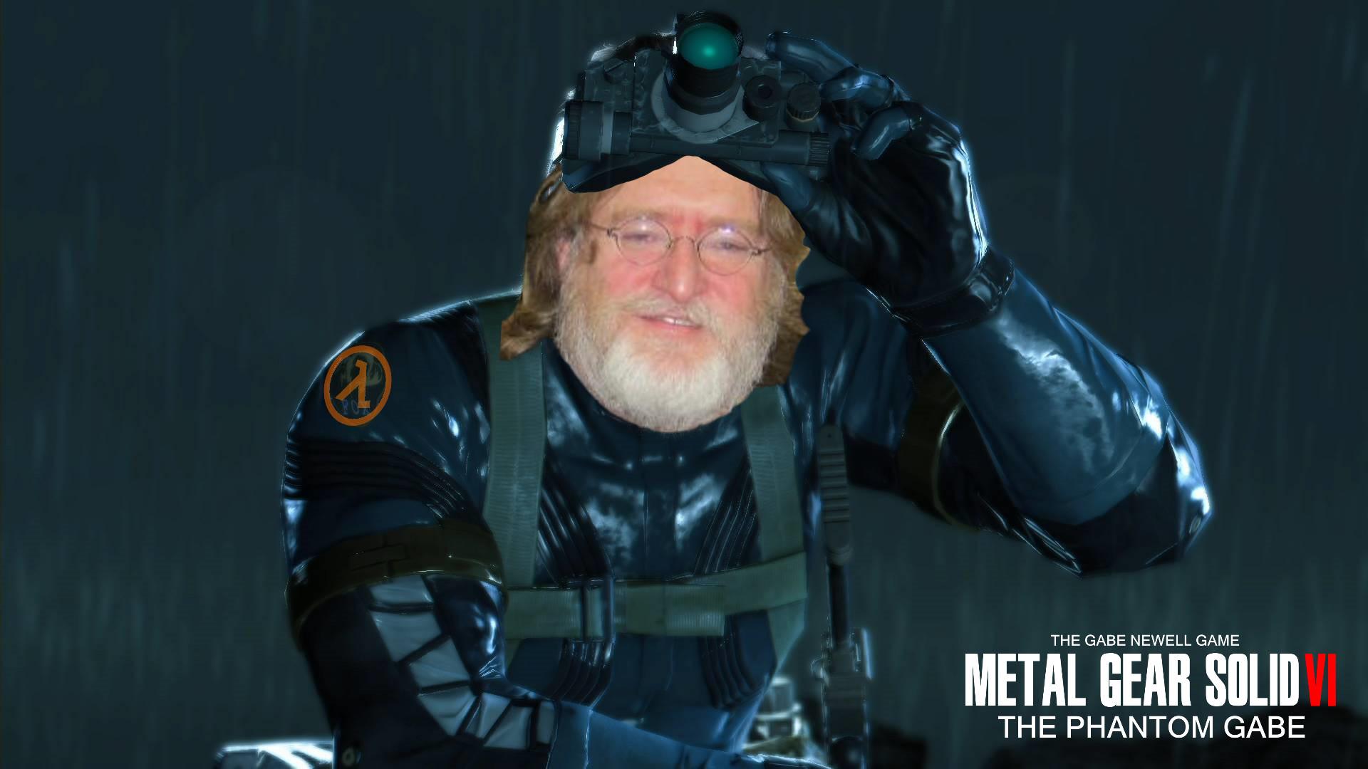 … Metal Gear Solid 6 The Phantom Gabe Art 2 by Fpew