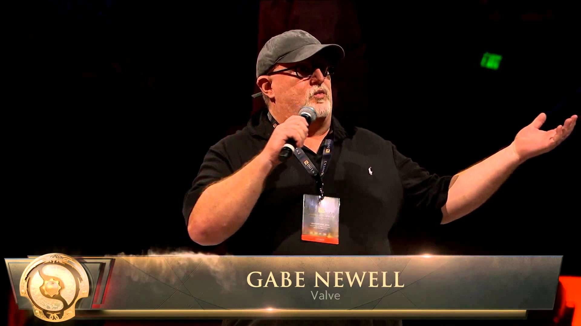 """Gabe Newell """"Welcome To The International"""" & Speech V.2015   #TI5 – YouTube"""