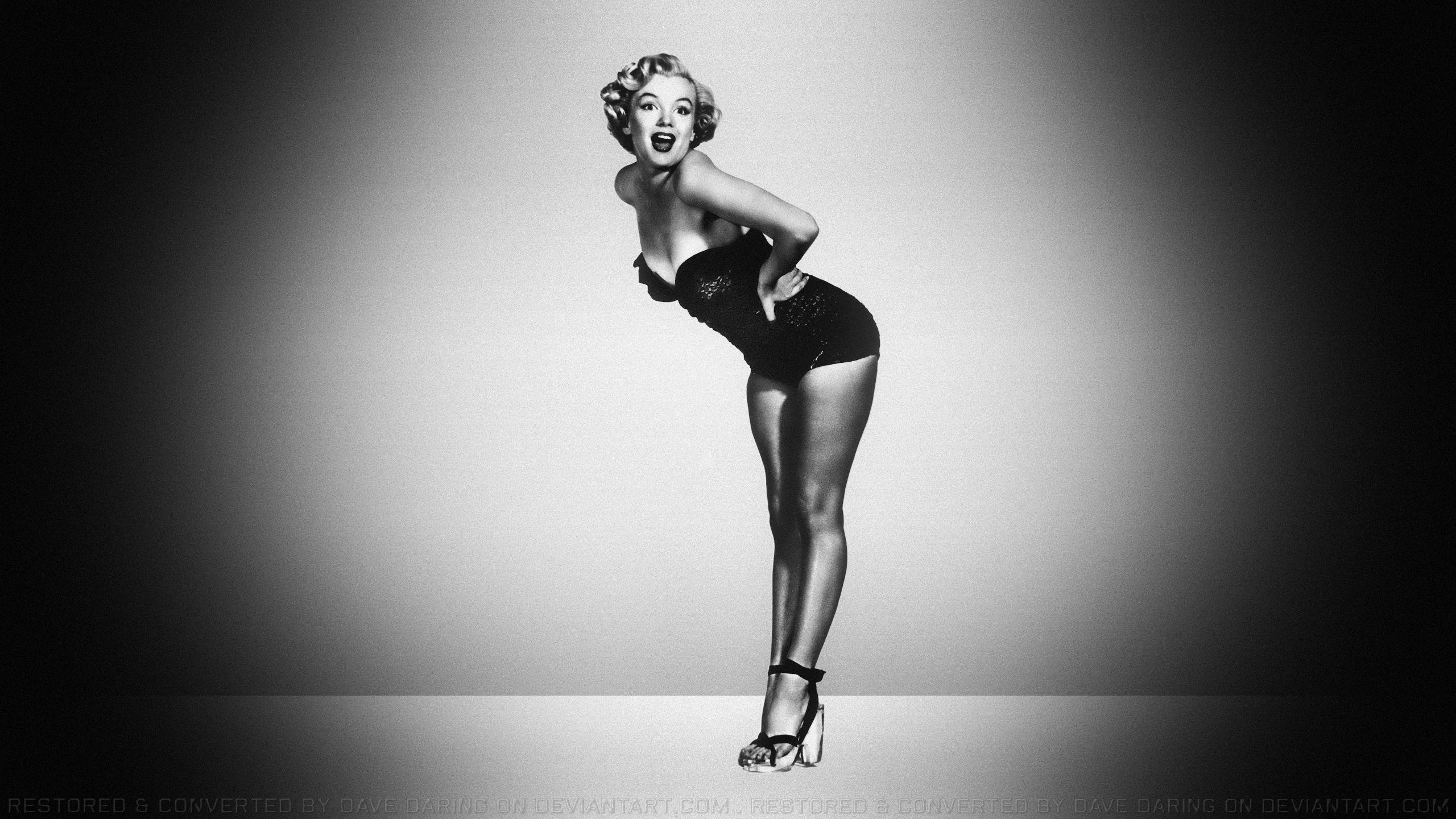 … Marilyn Monroe Peek A Boo by Dave-Daring