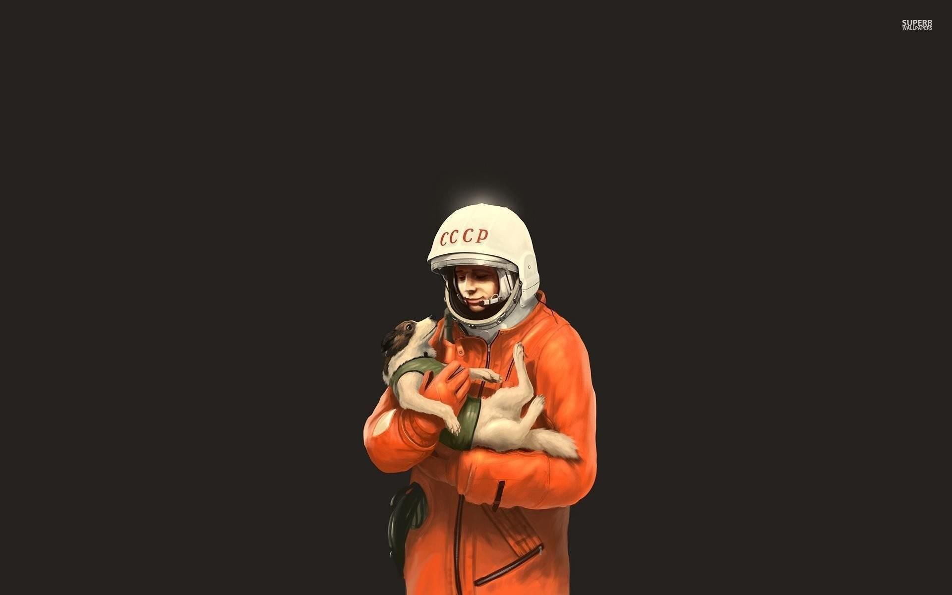 Yuri Gagarin And Laika …