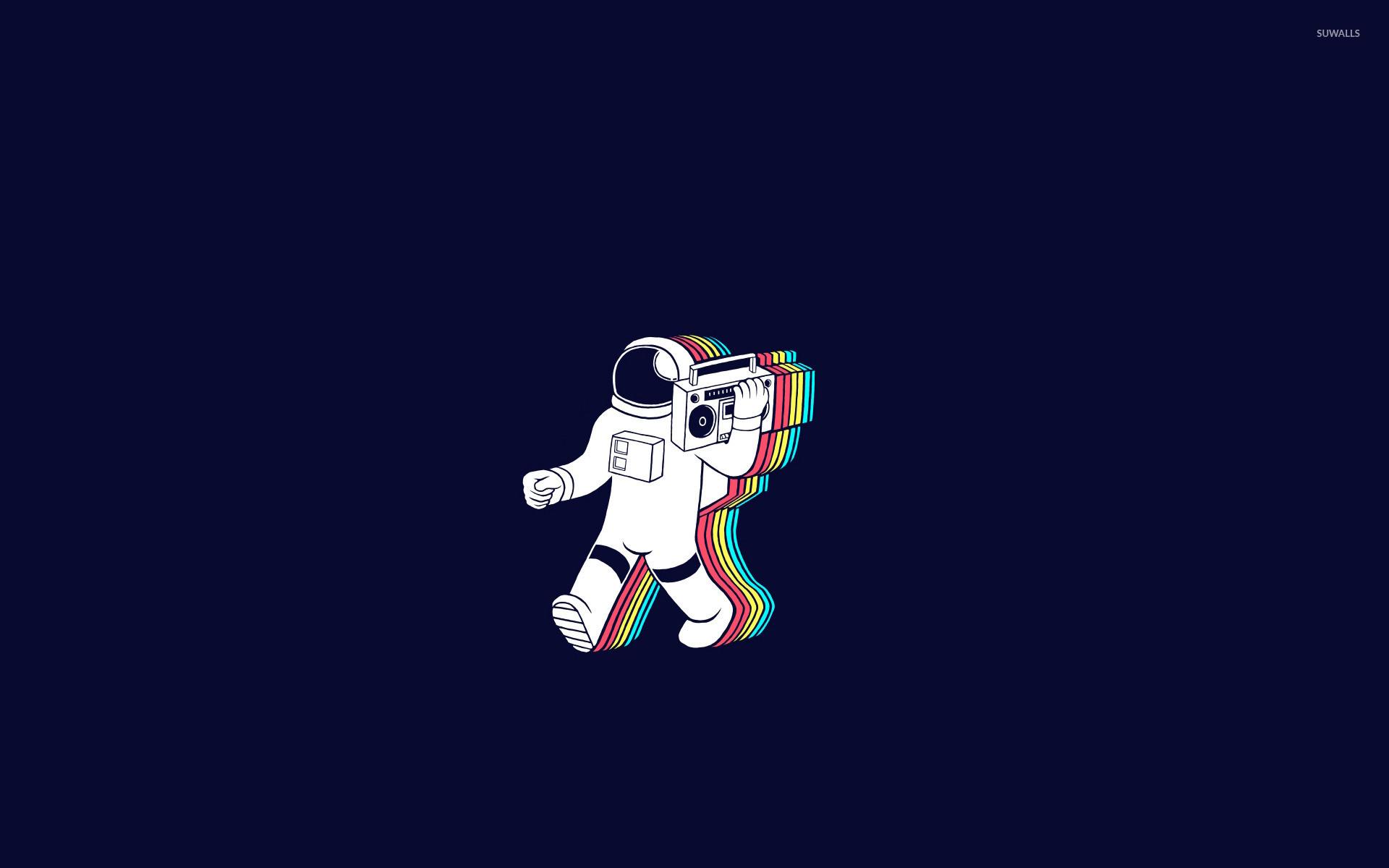 Party astronaut wallpaper jpg