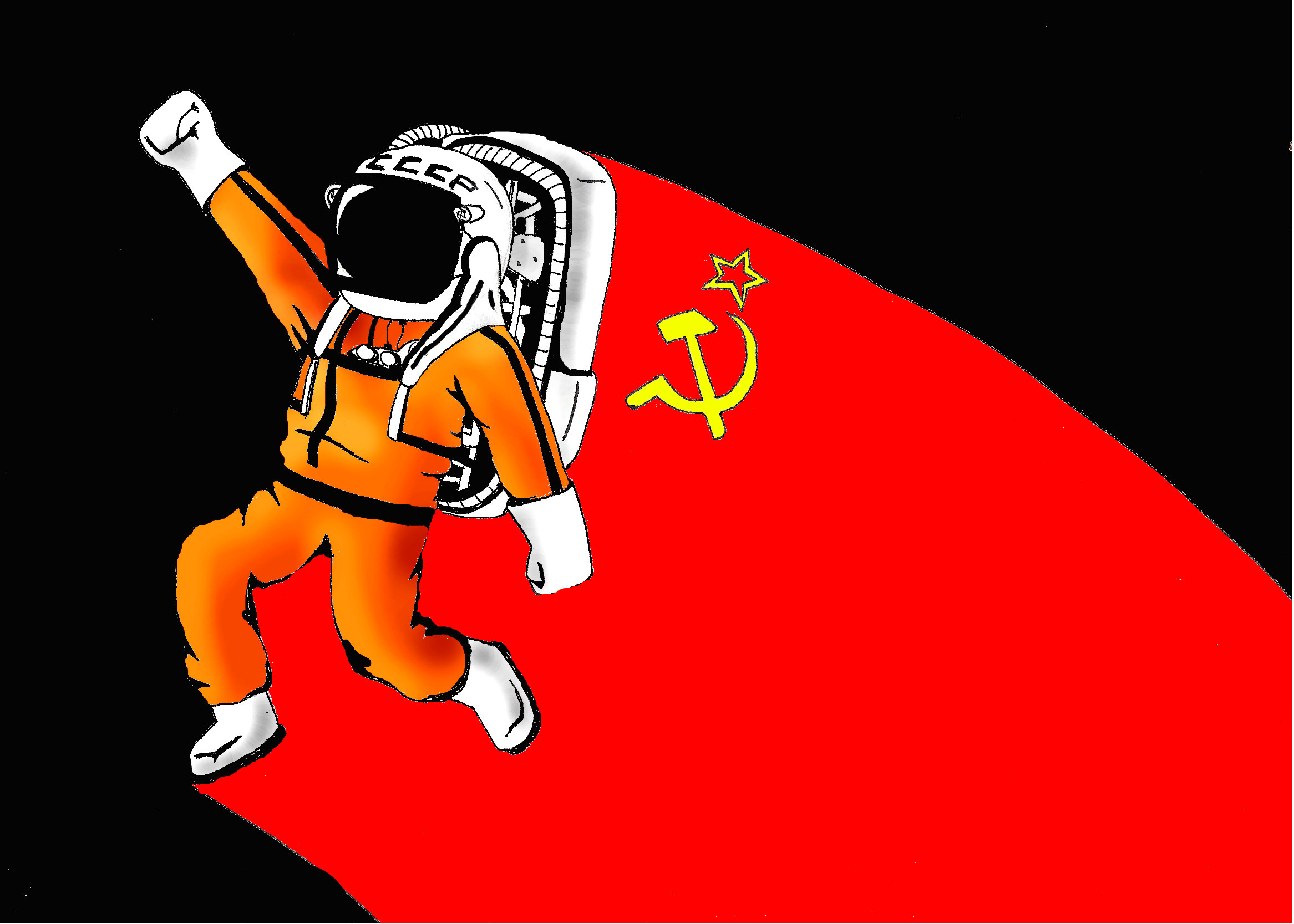 Yuri Gagarin by kobalto1 Yuri Gagarin by kobalto1