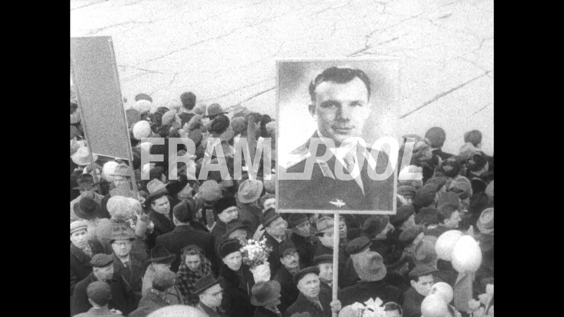 1961, April: First Pictures of Yuri Gagarin