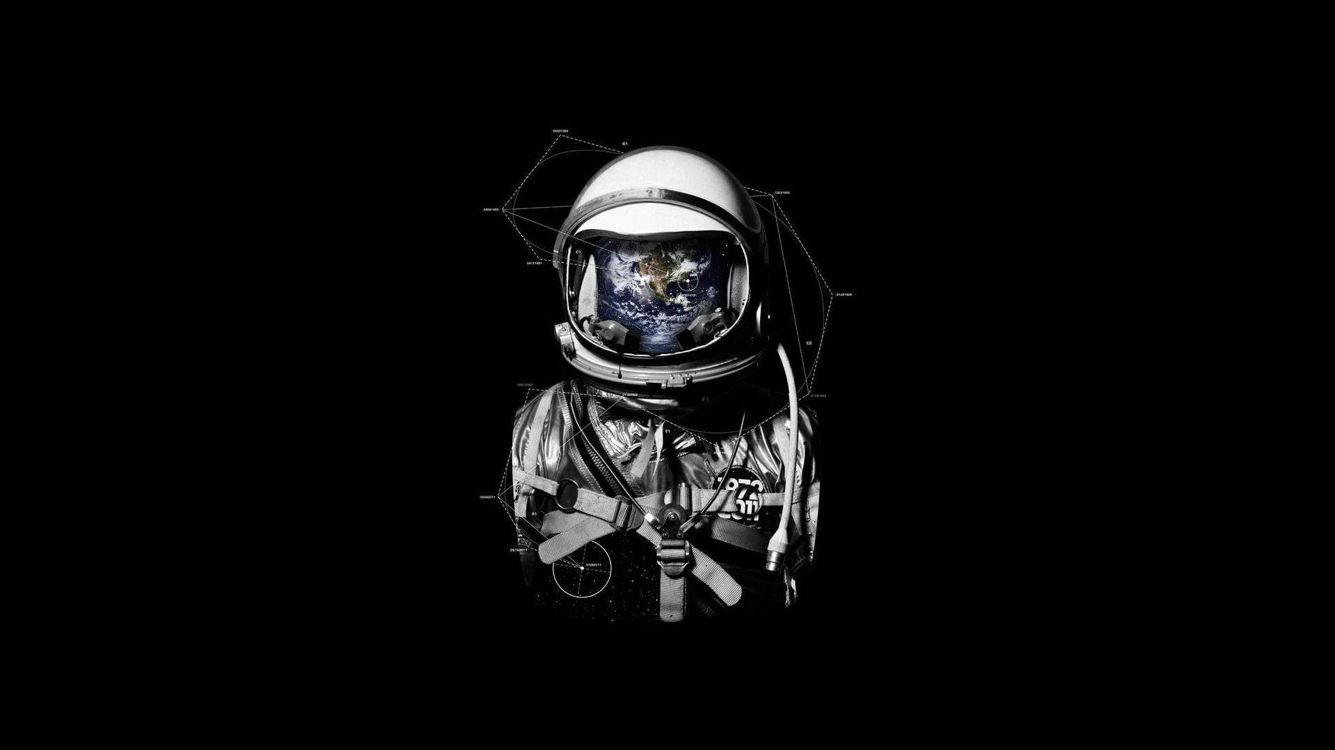 Surreal Astronaut Wallpapers Desktop